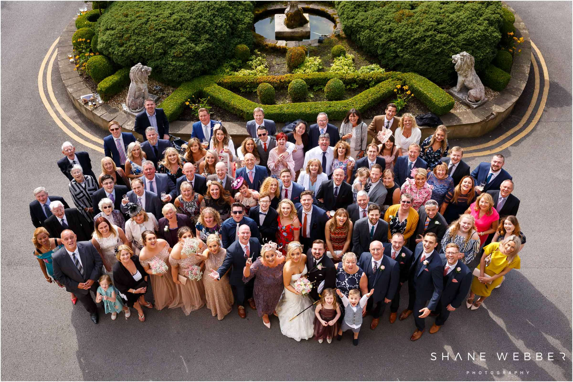 group wedding photography