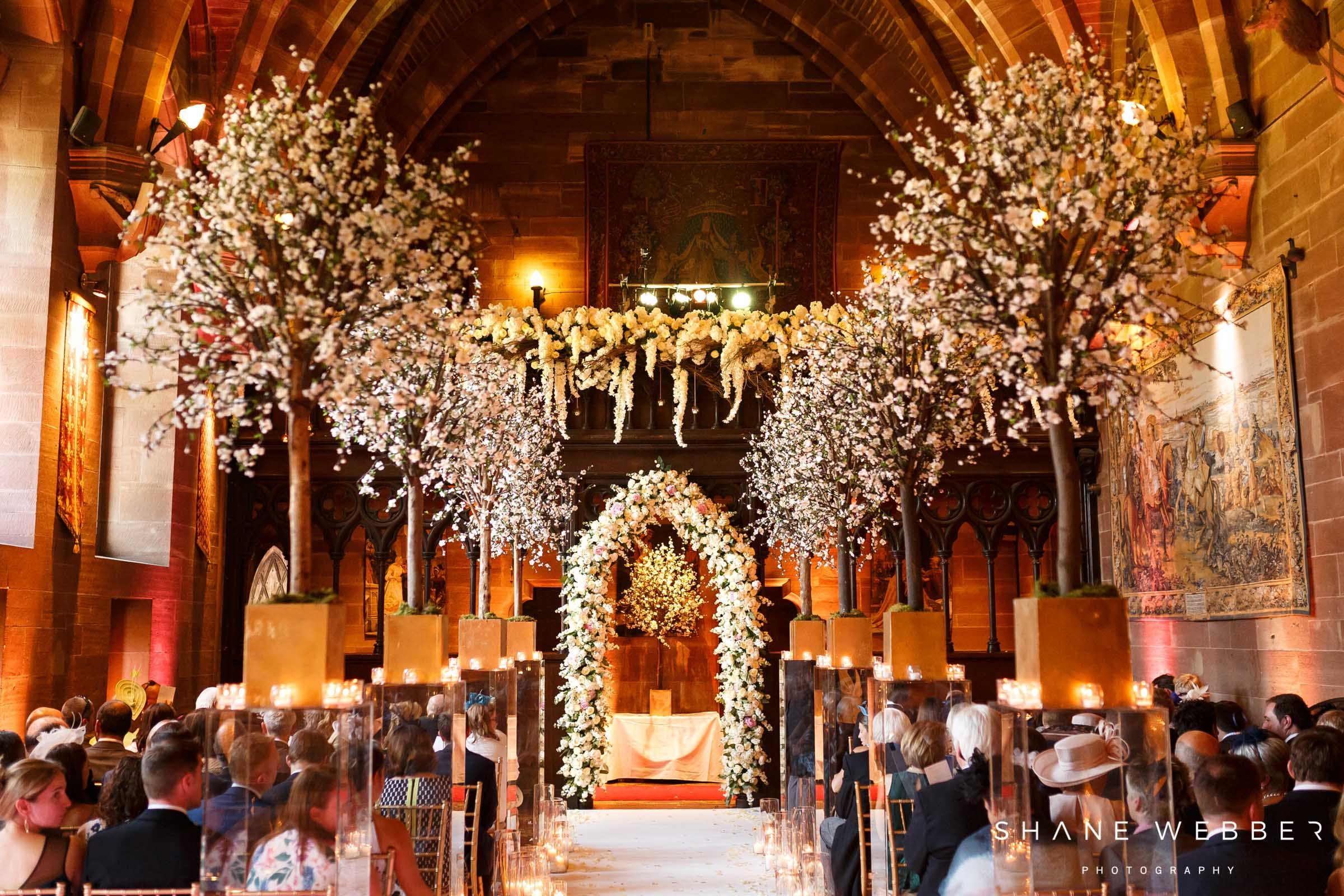 beautiful peckforton castle wedding photography