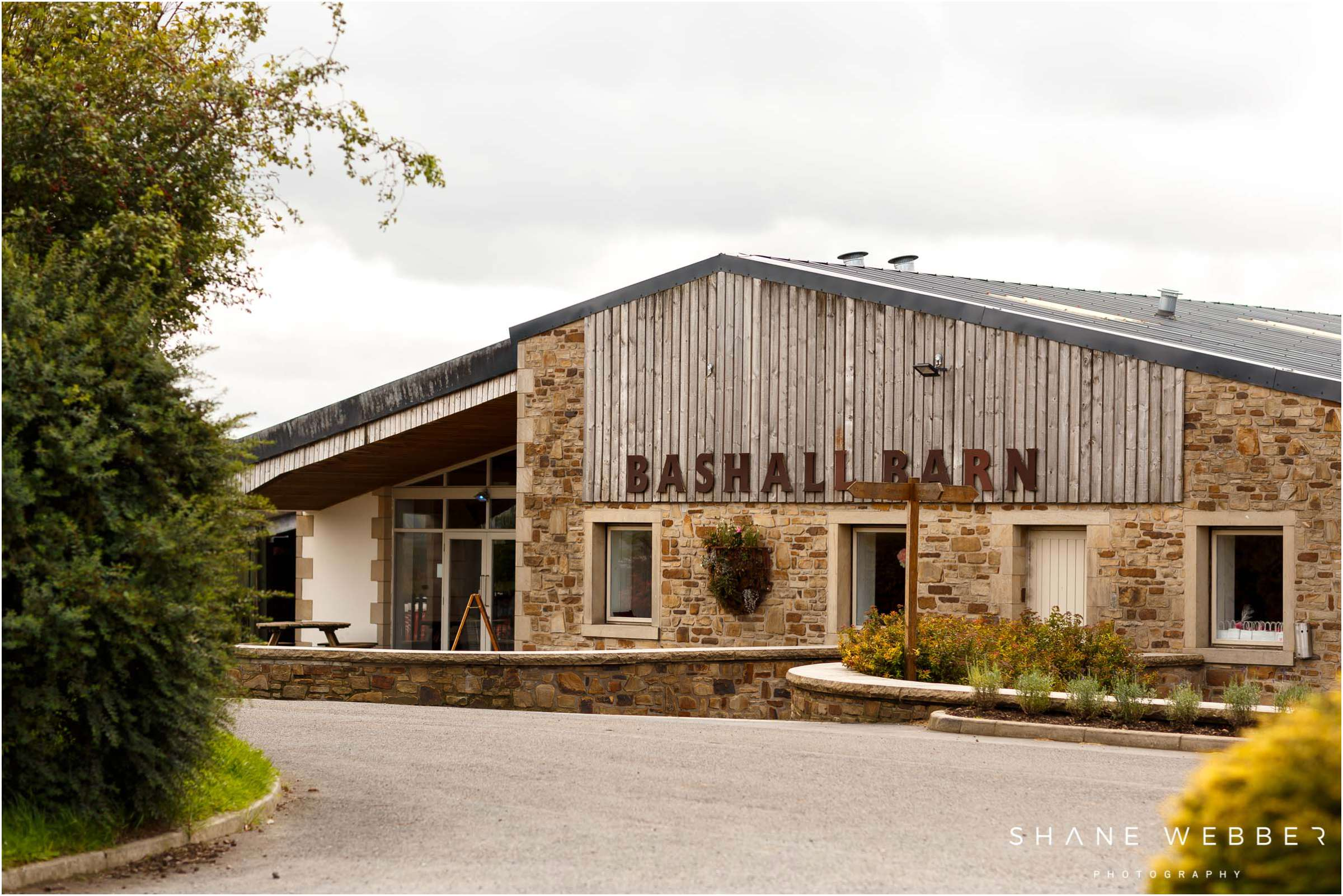 Bashall Barn wedding
