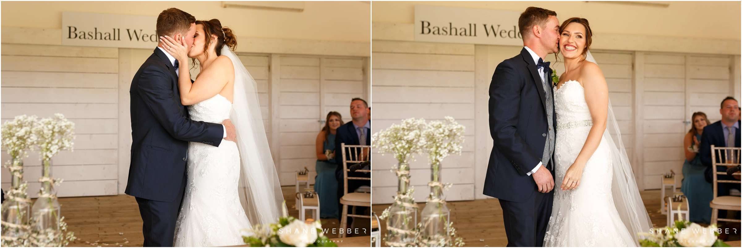 Bashall Barn wedding photos