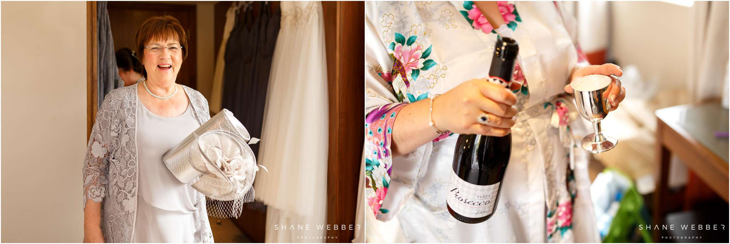bridal morning prosecco