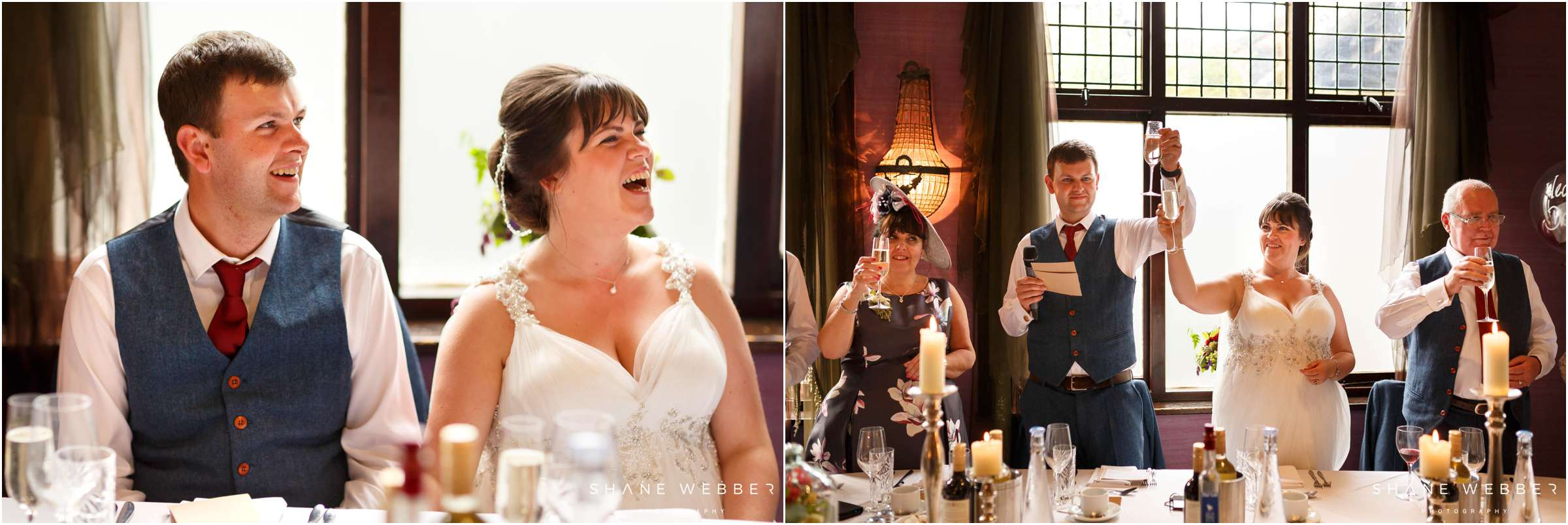 wedding speech reaction photos