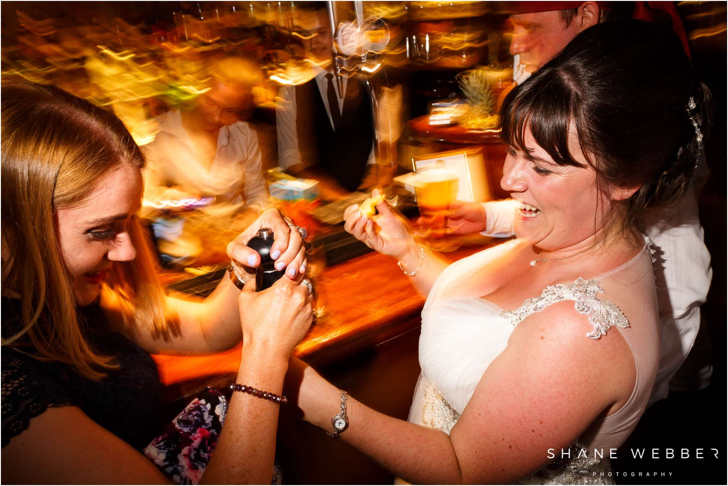 bride tequila shots