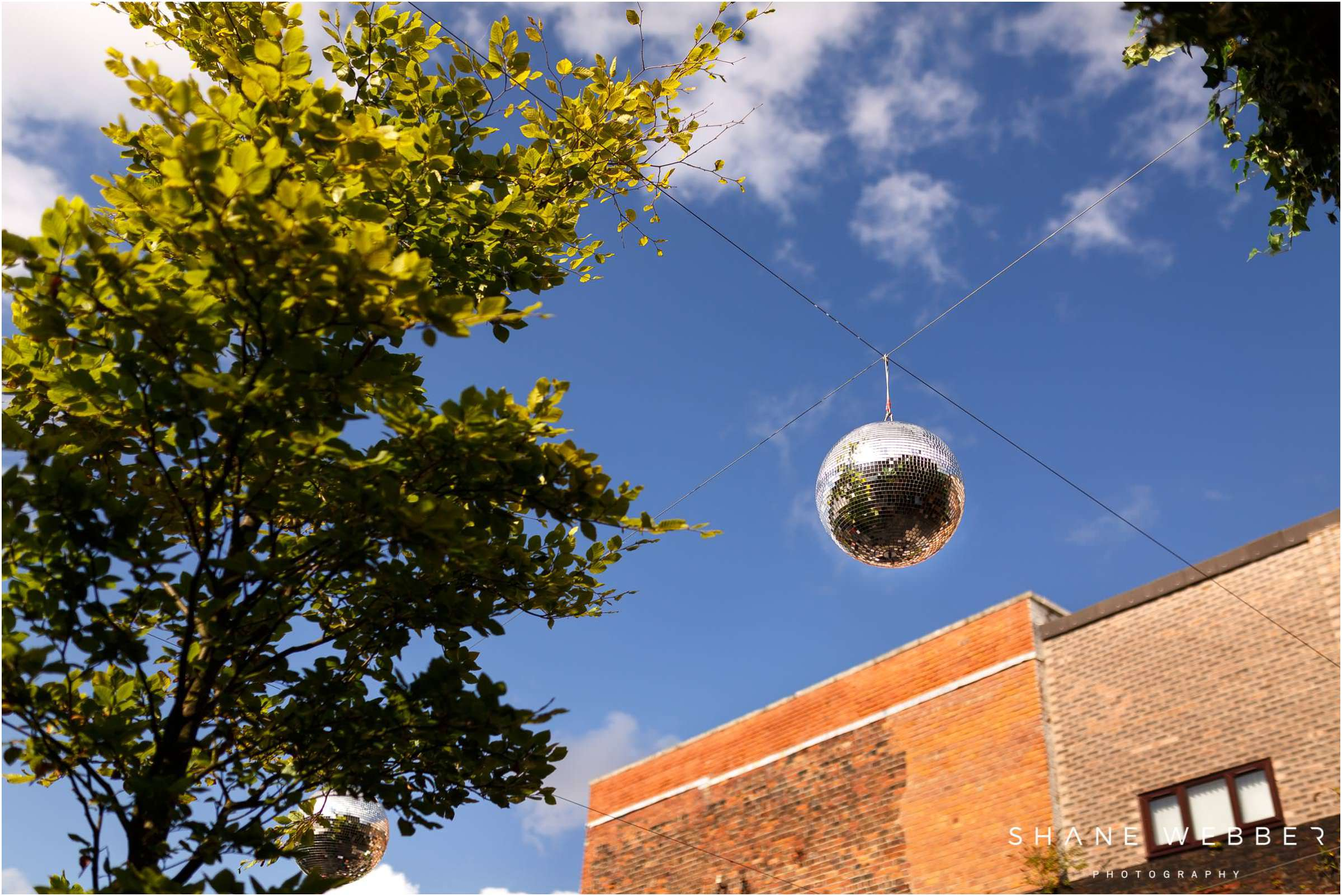 outdoor disco ball