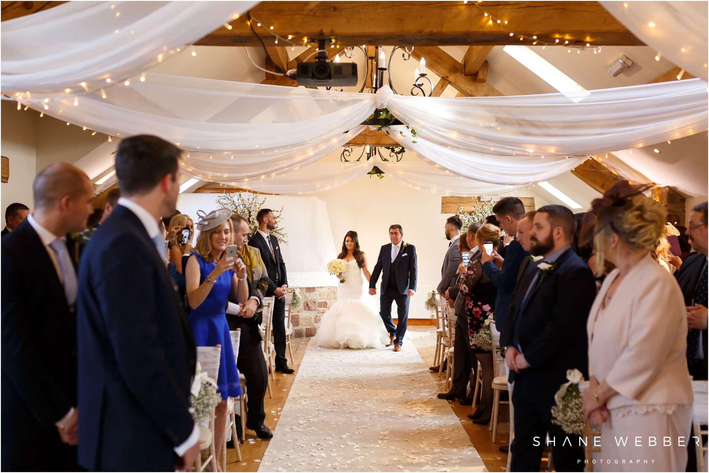 Beeston manor winter wedding
