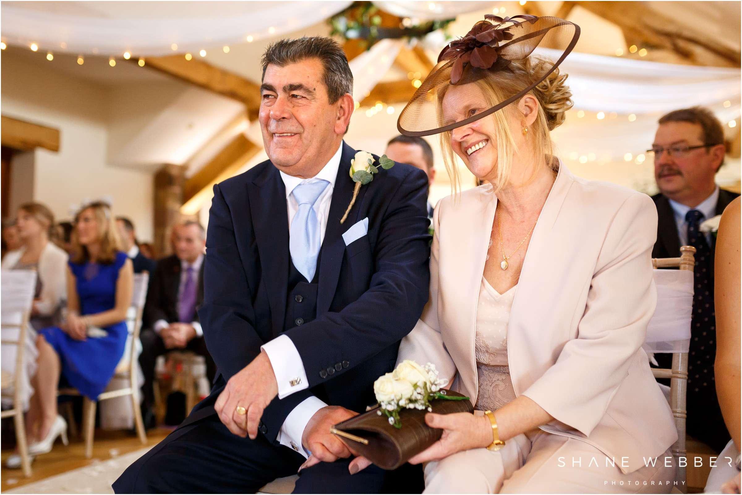 Parents of the bride wedding photo