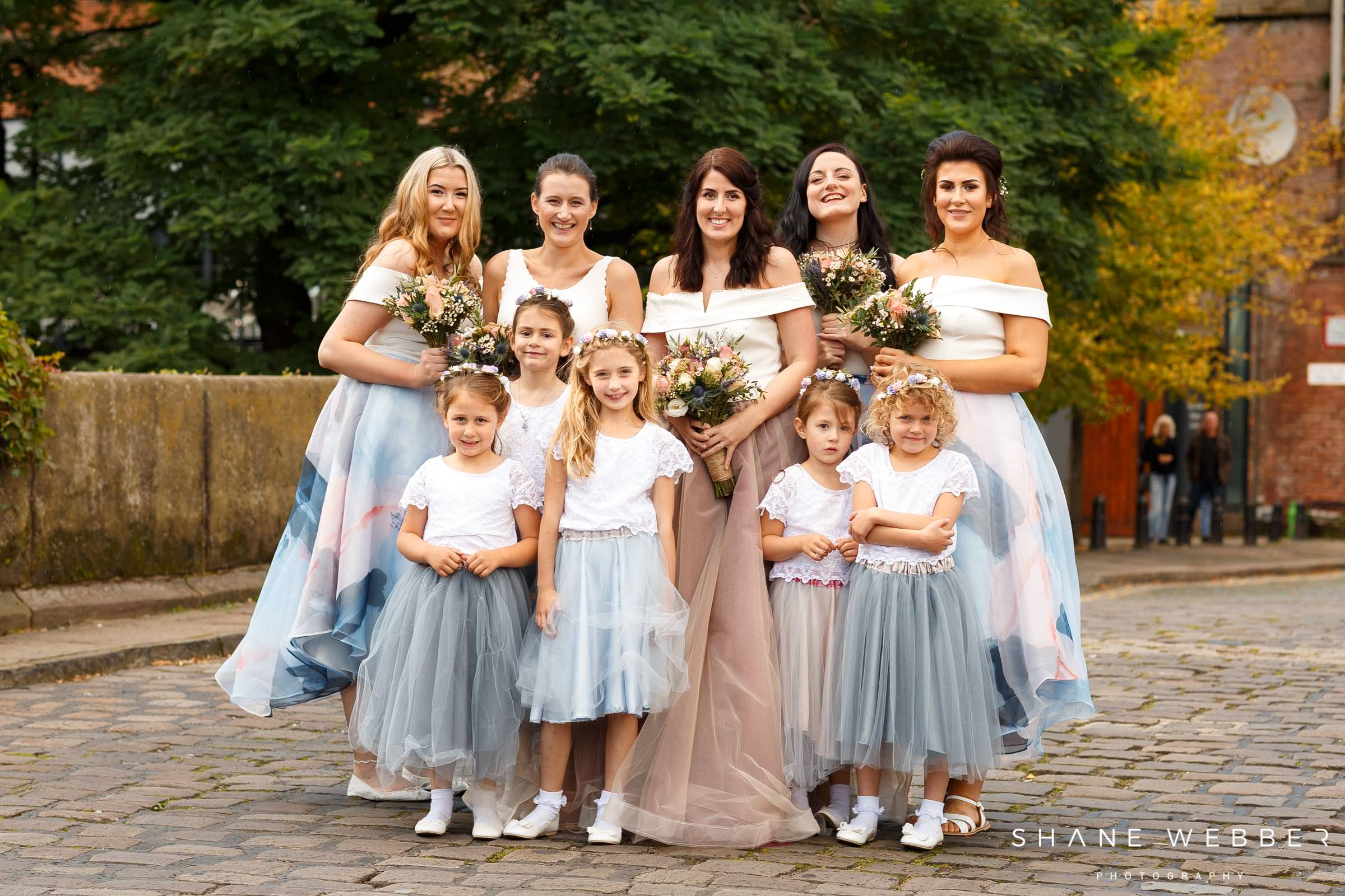 alternative bridesmaid and wedding dresses