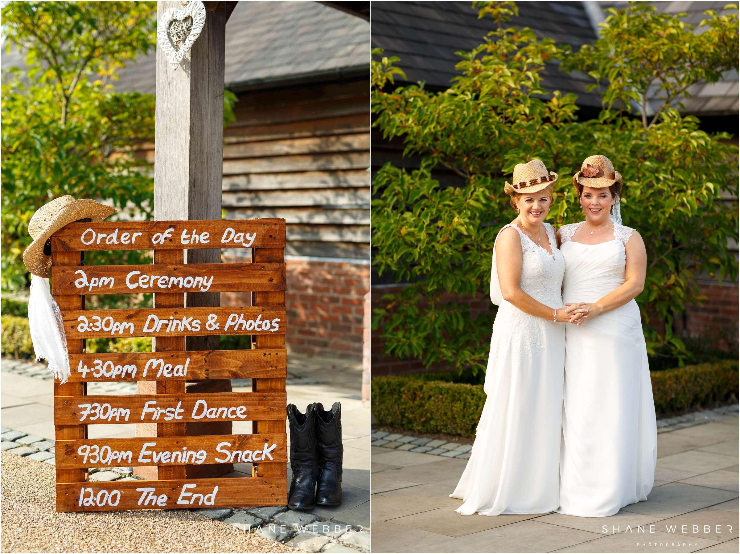 cowboy themed wedding photography