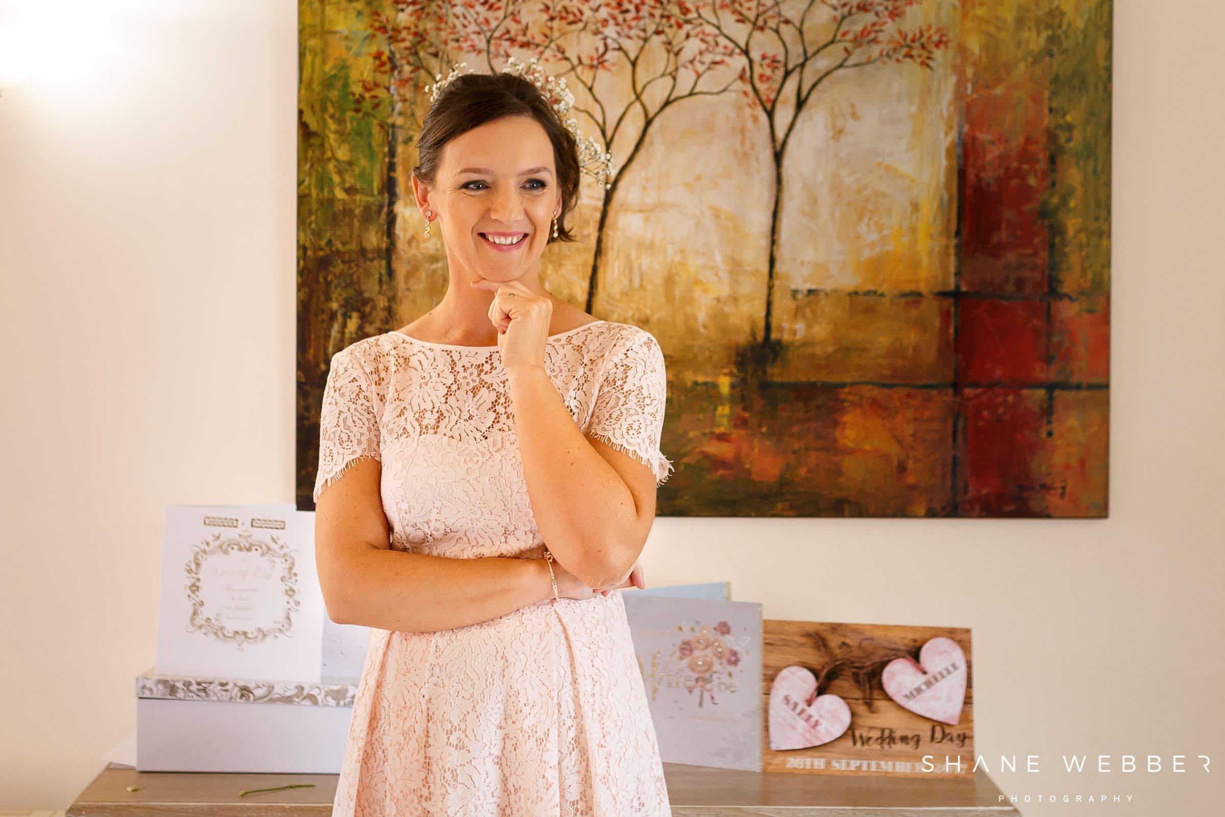 first look wedding dress