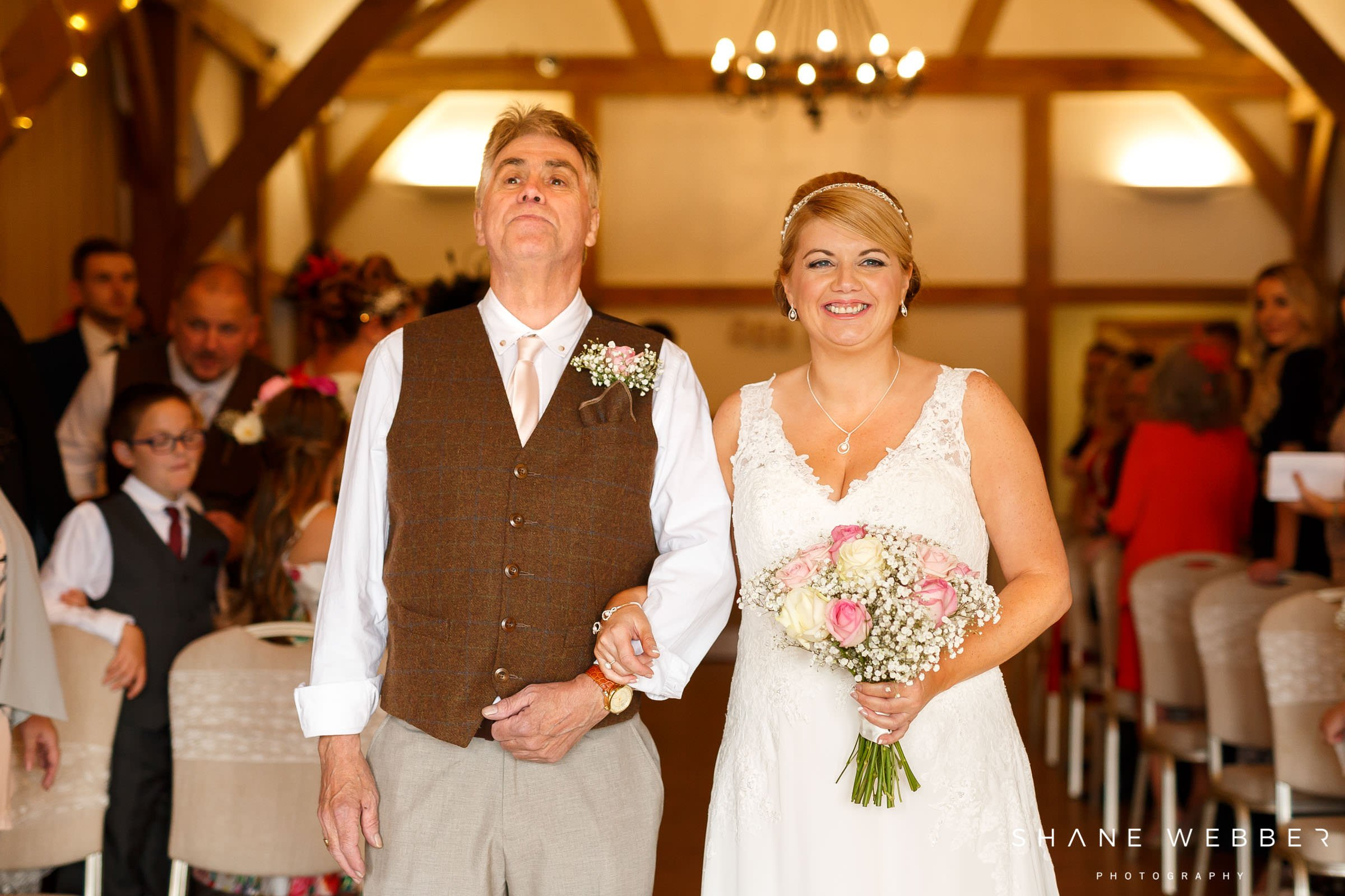 Sandhole Oak Barn ceremony