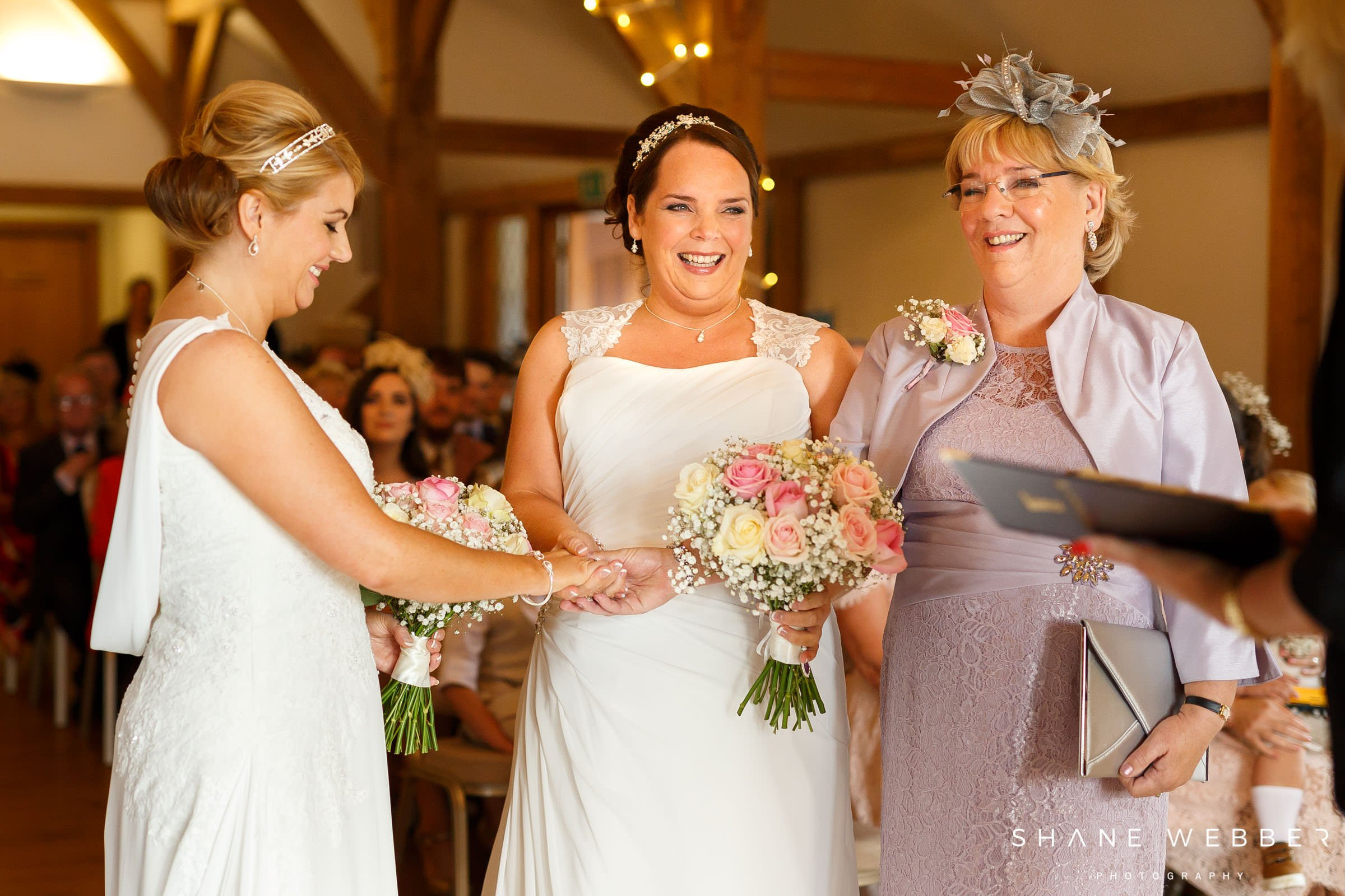 Sandhole Oak Barn weddings