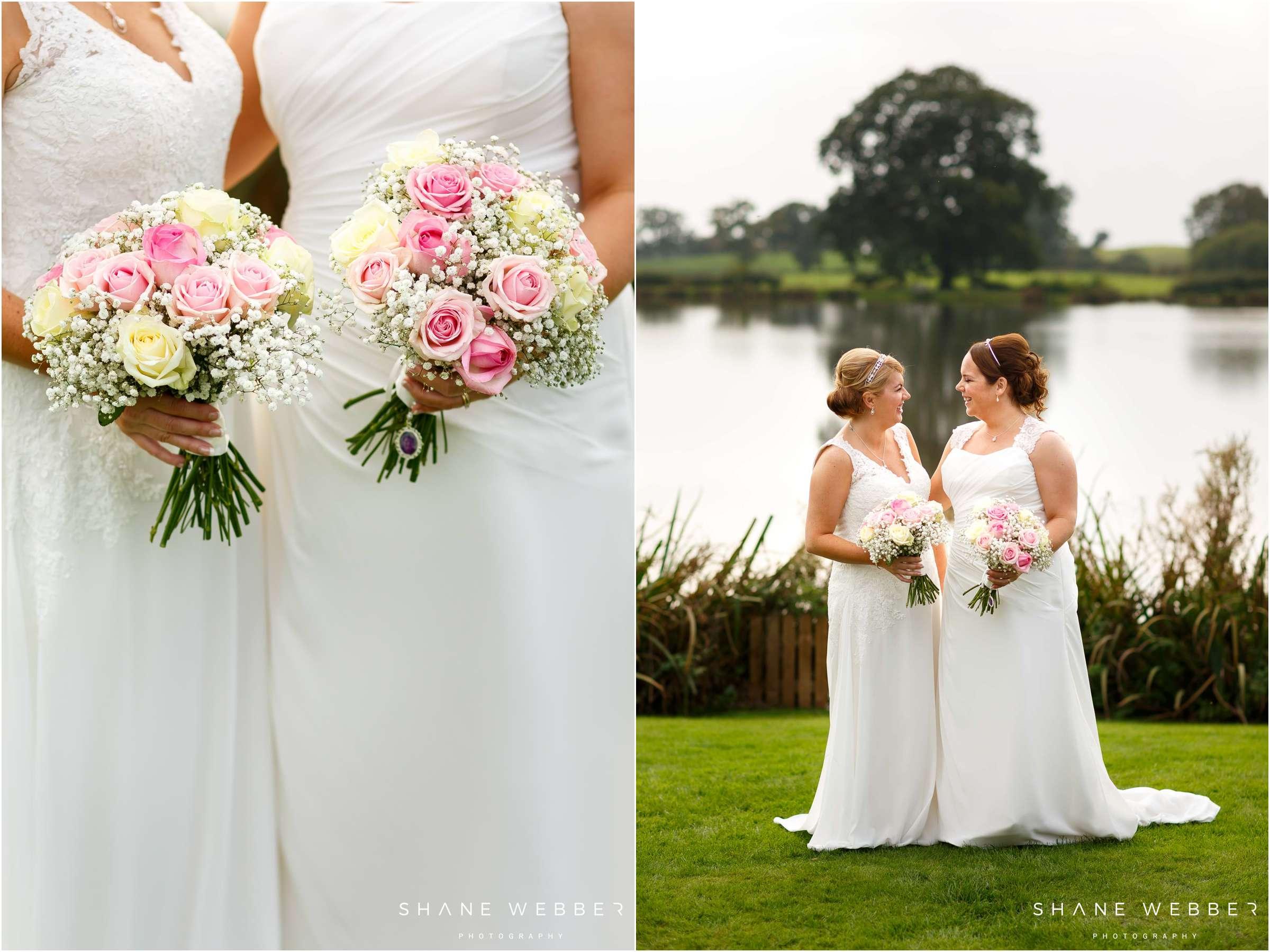 Sandhole Oak Barn Same sex wedding