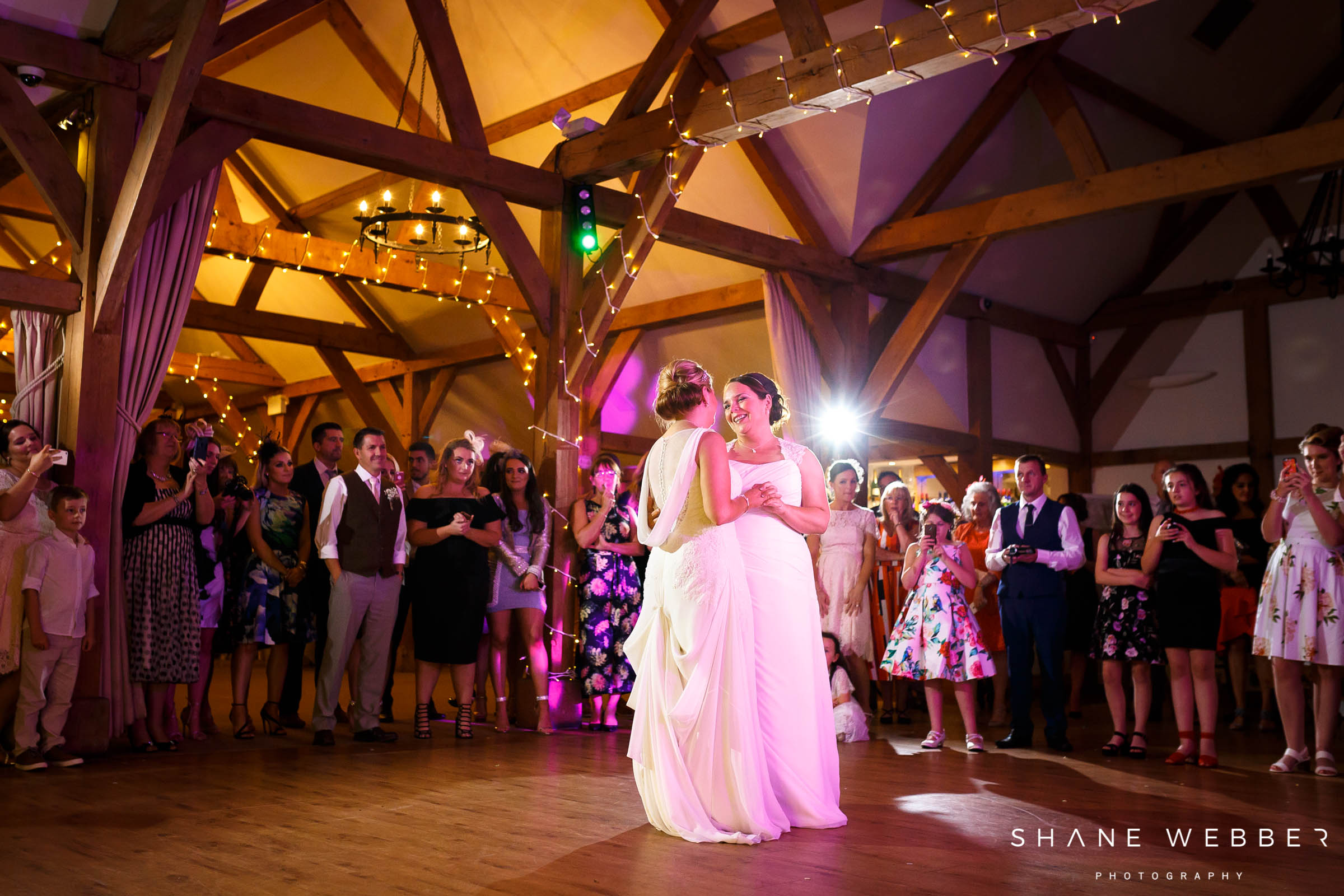 couples first dance on wedding day