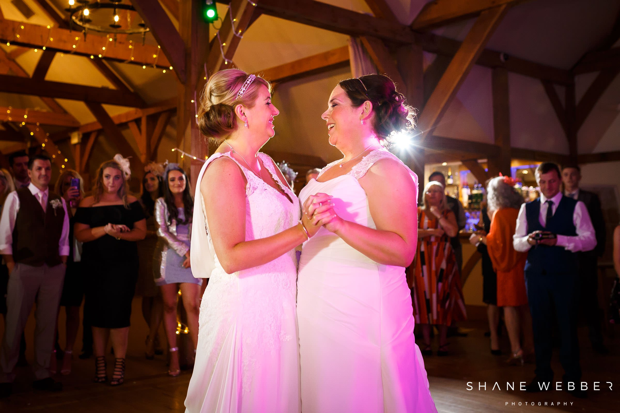 same sex first dance photo