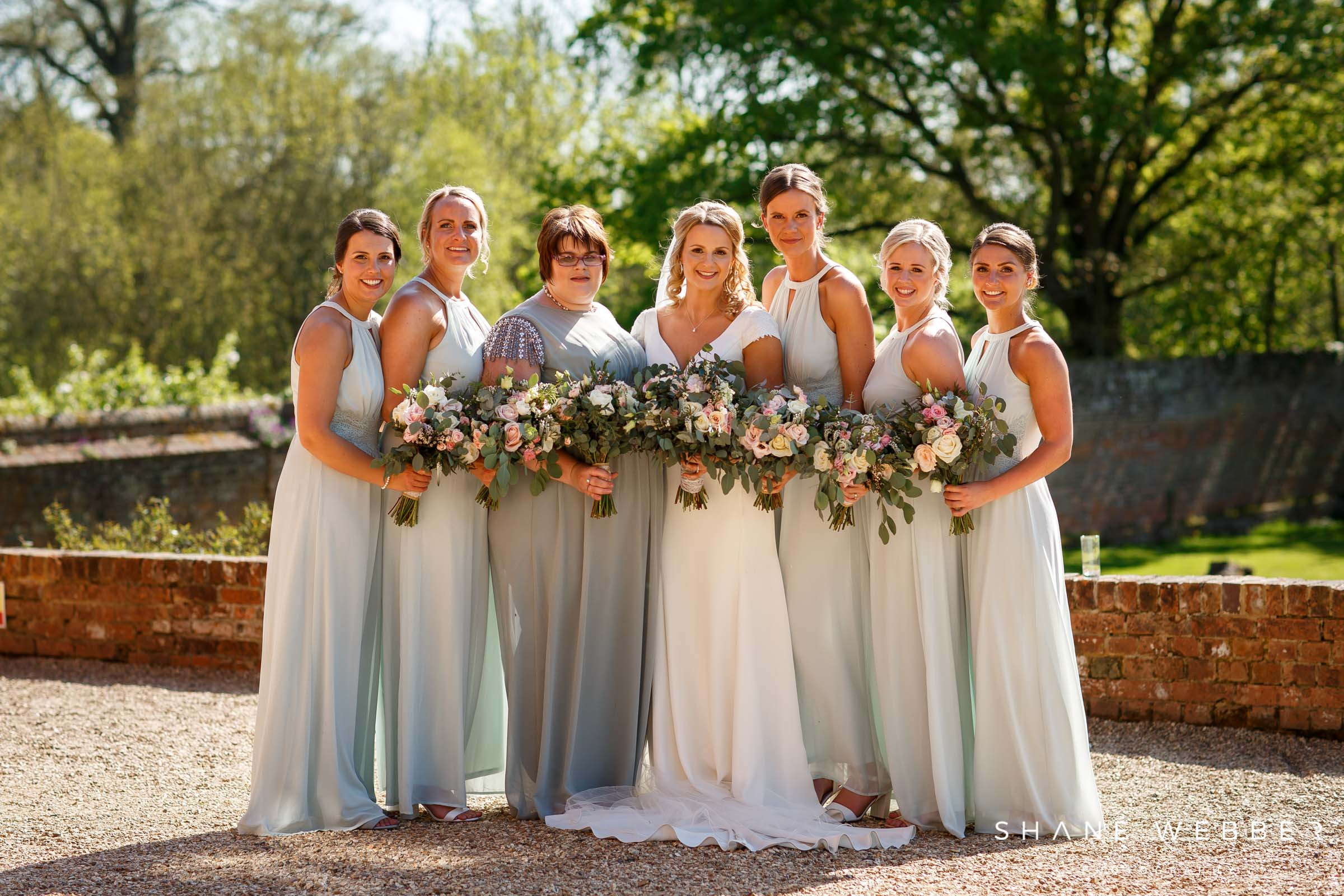 bridesmaid portrait ideas