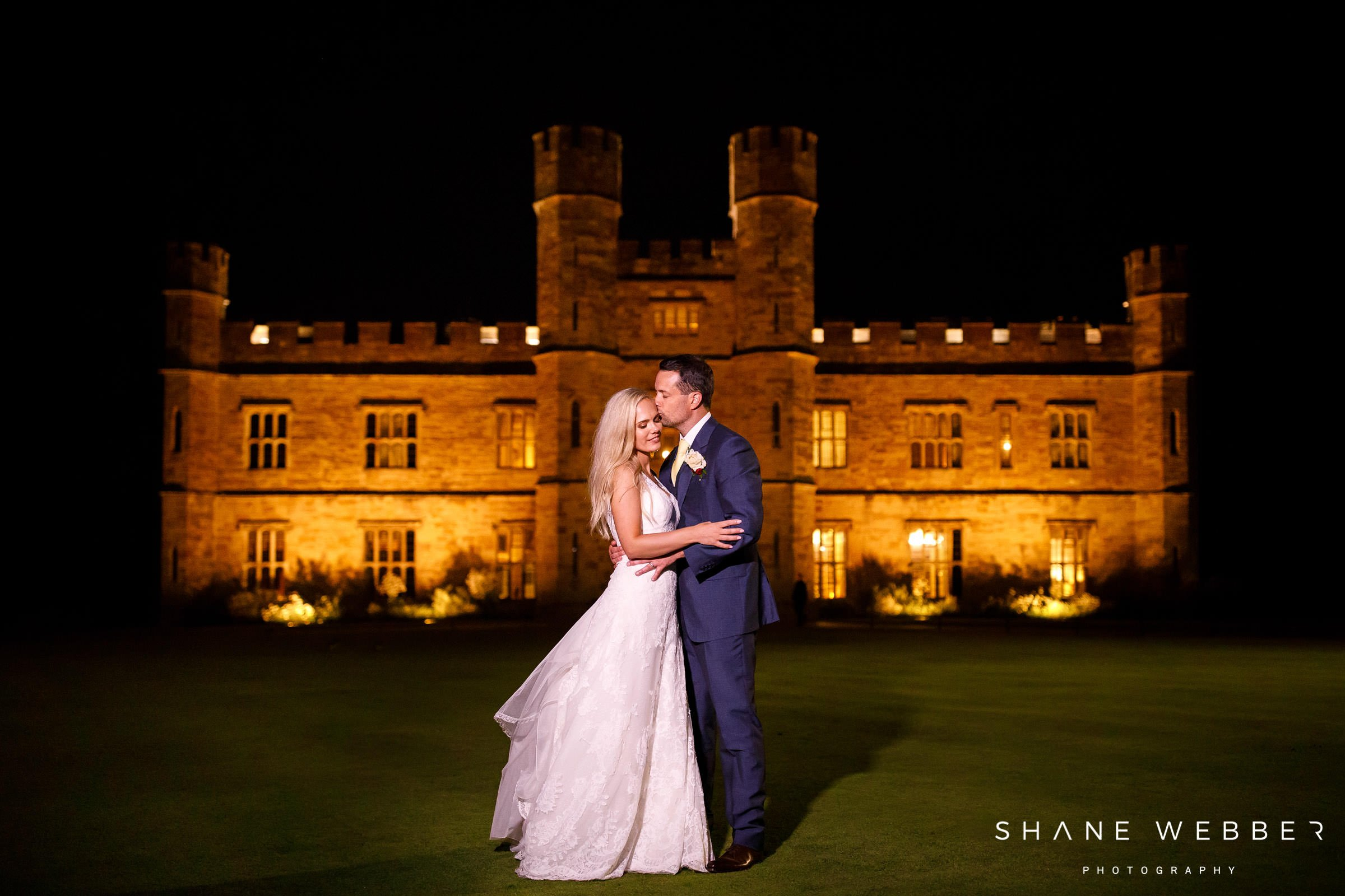 castle wedding photo
