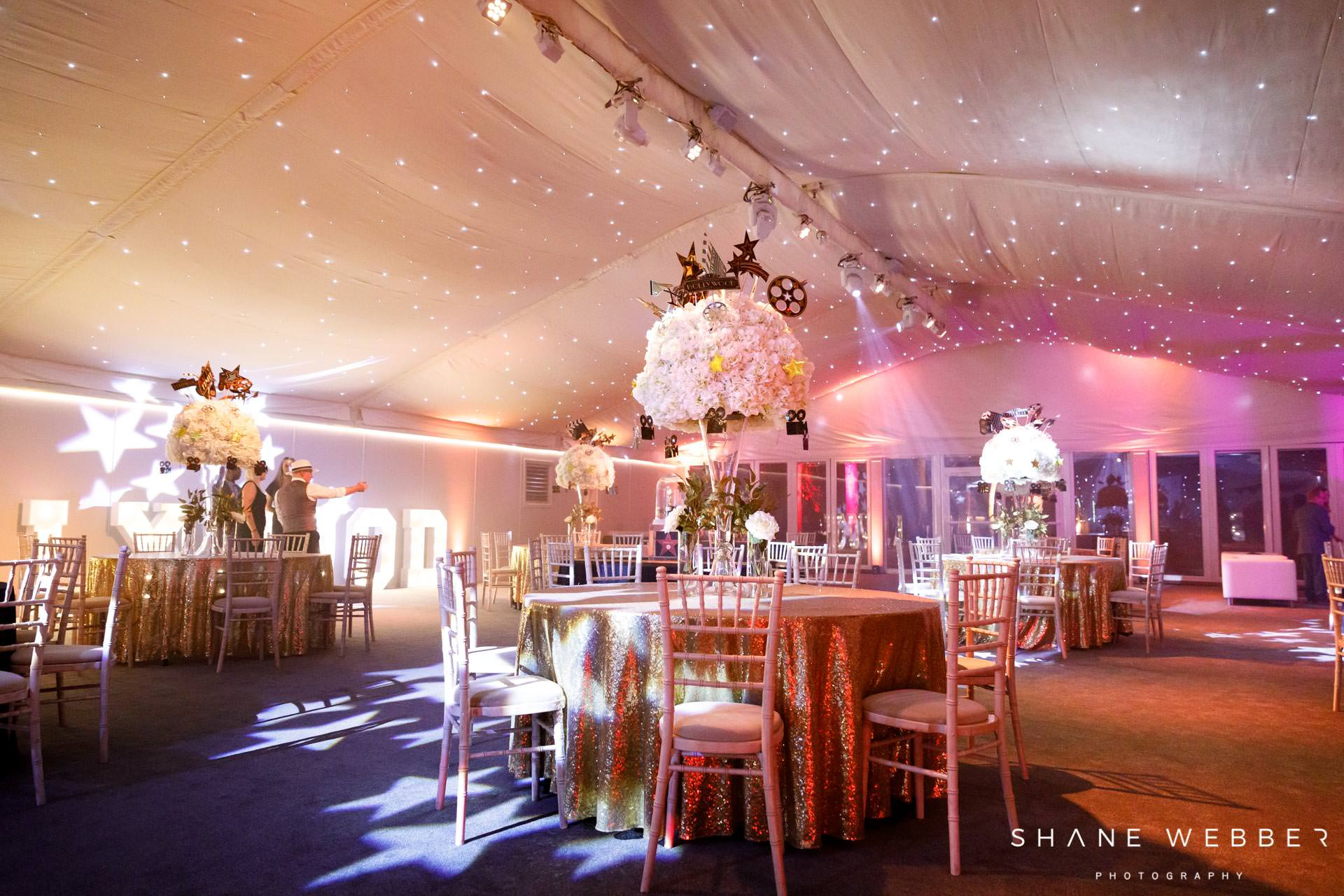 nunsmere hall wedding marquee