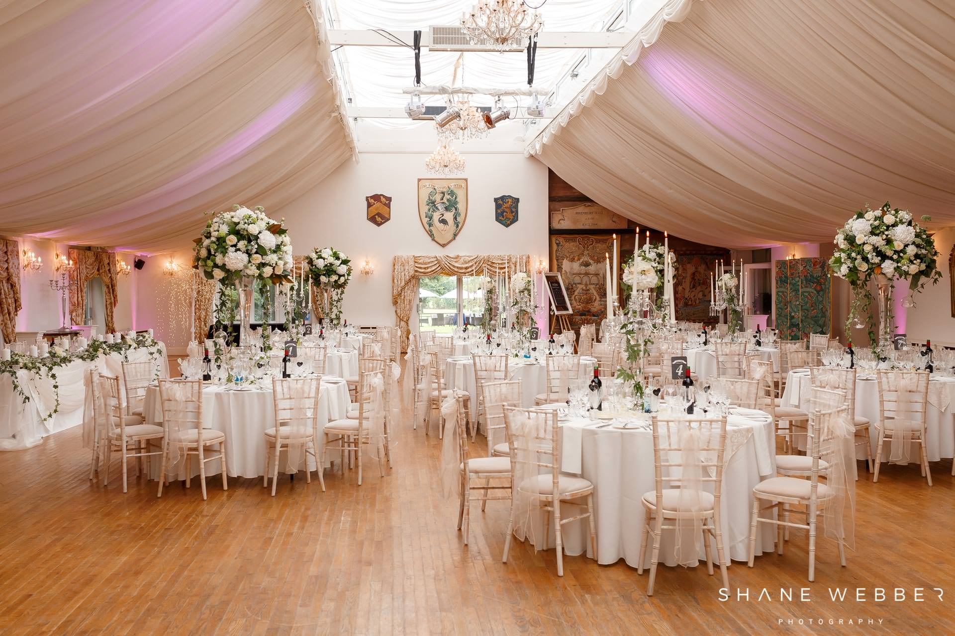 rebury hall wedding reception