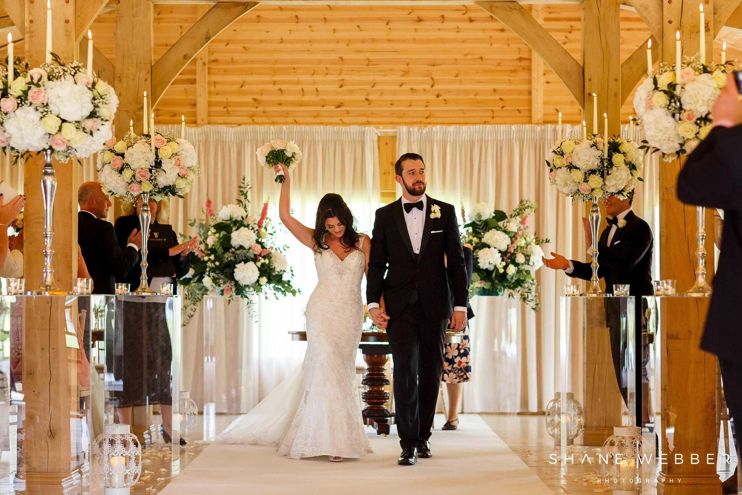 wedding ceremony colshaw hall