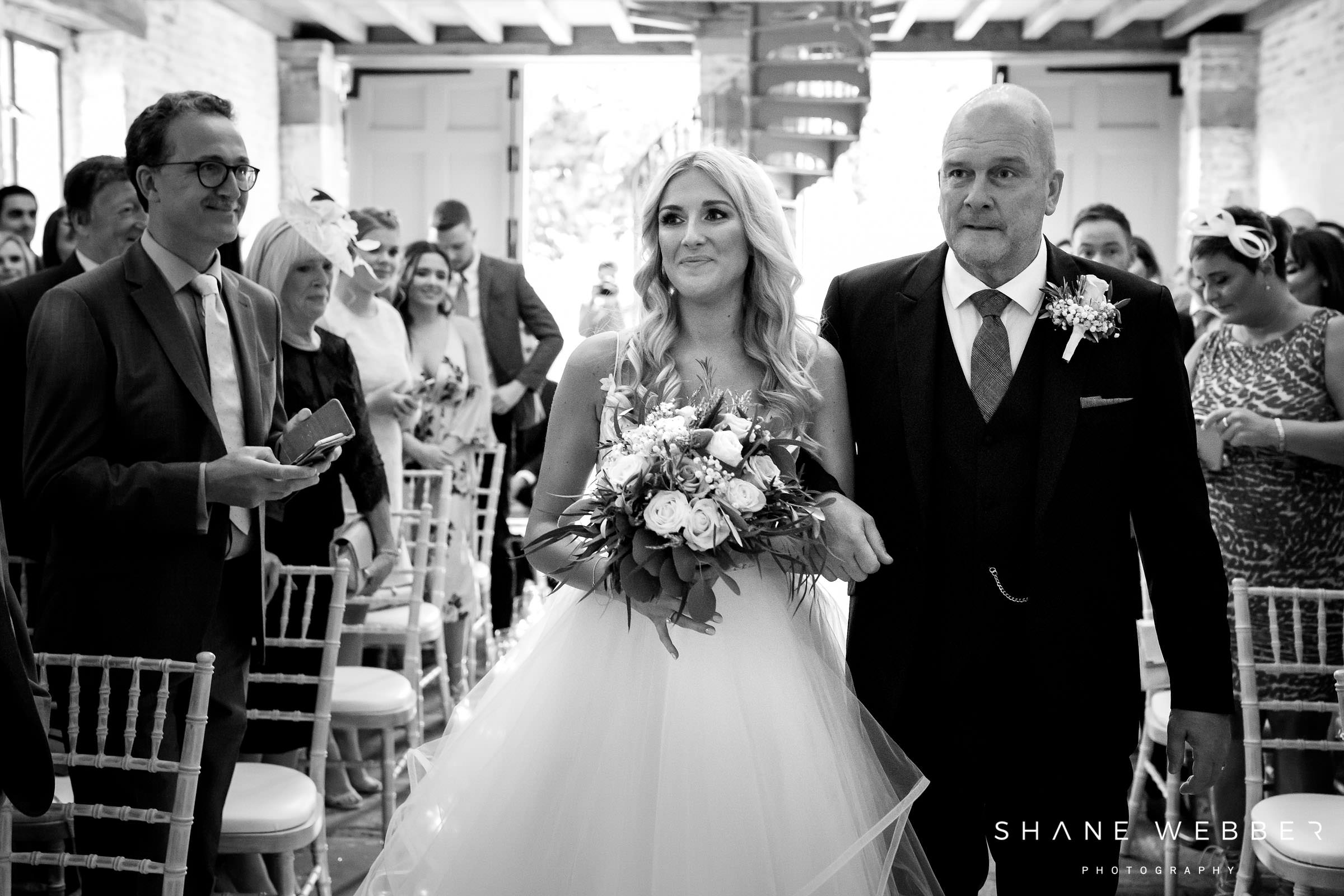 dorfold hall wedding ceremony
