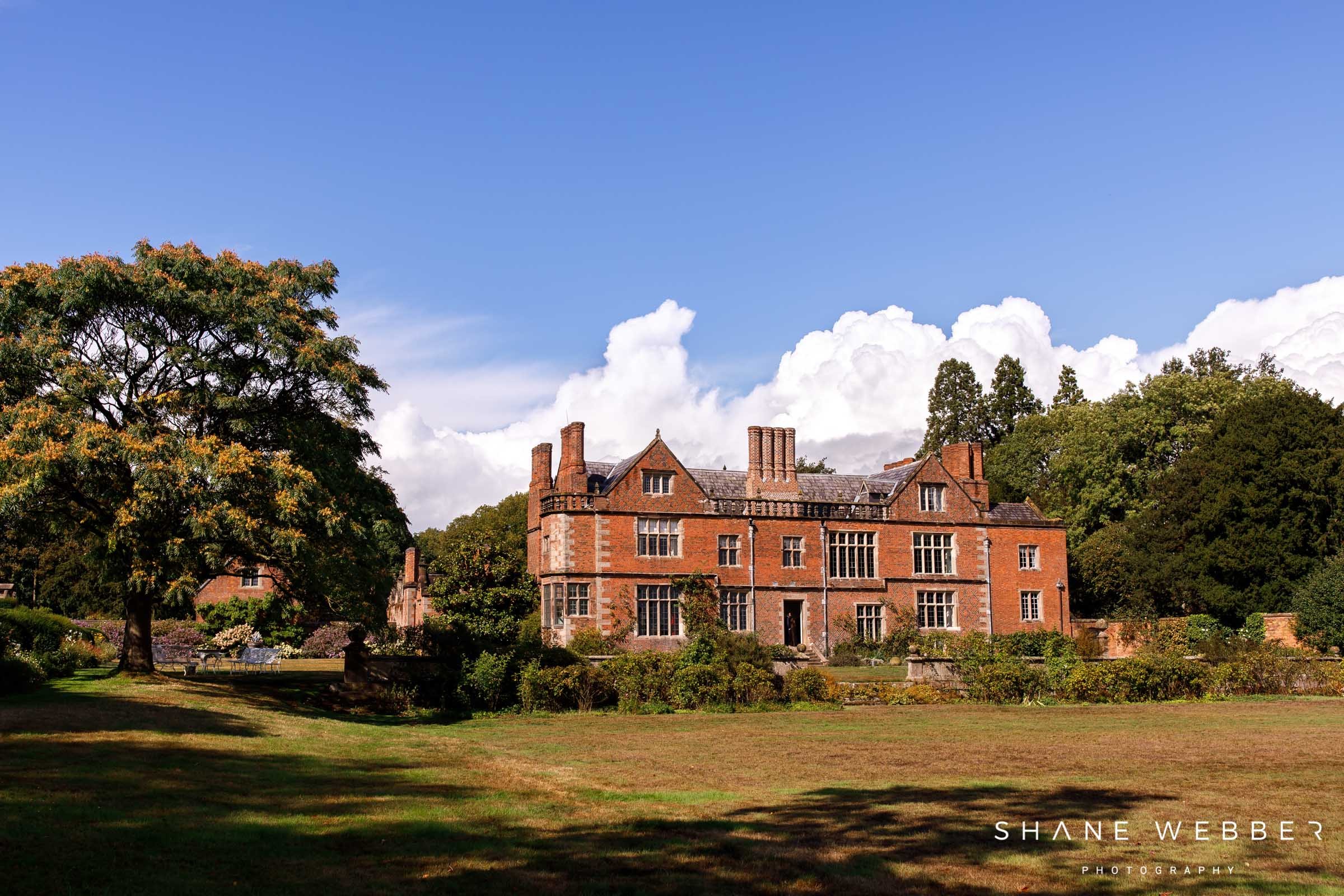 Dorfold Hall wedding packages