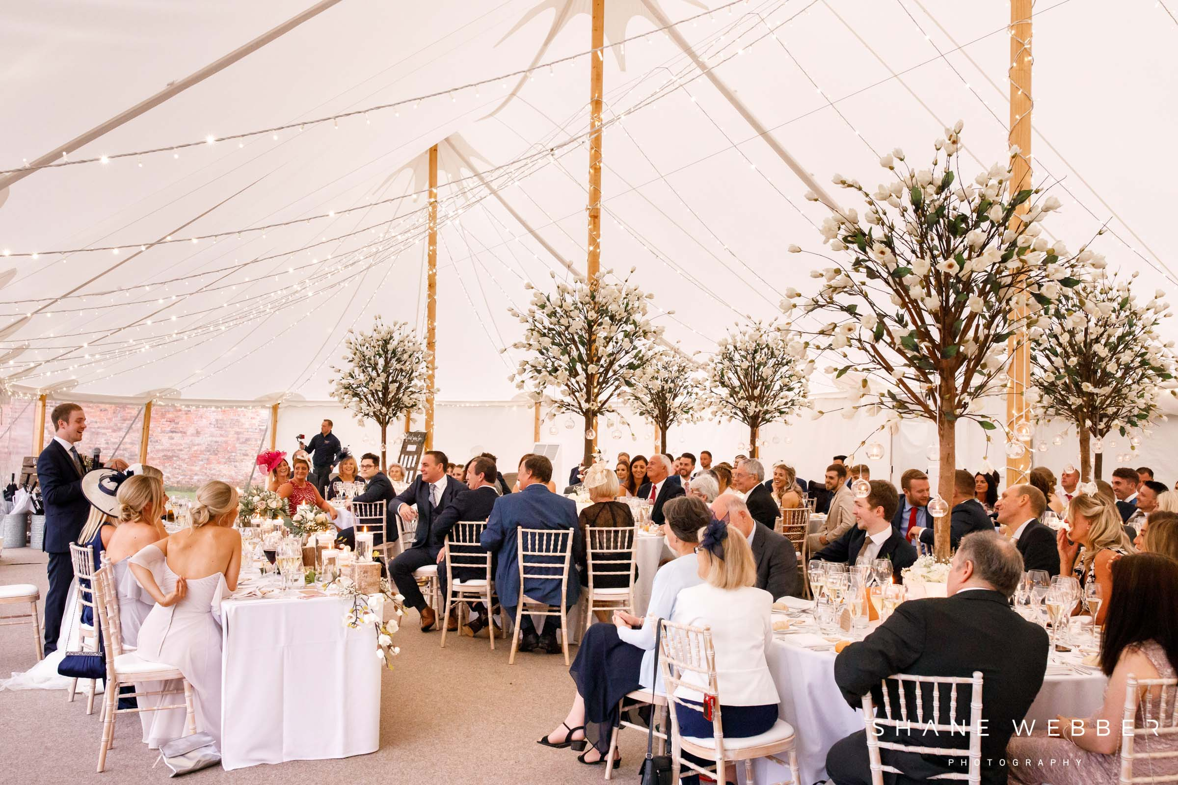 wedding marquee dorfold hall cheshire