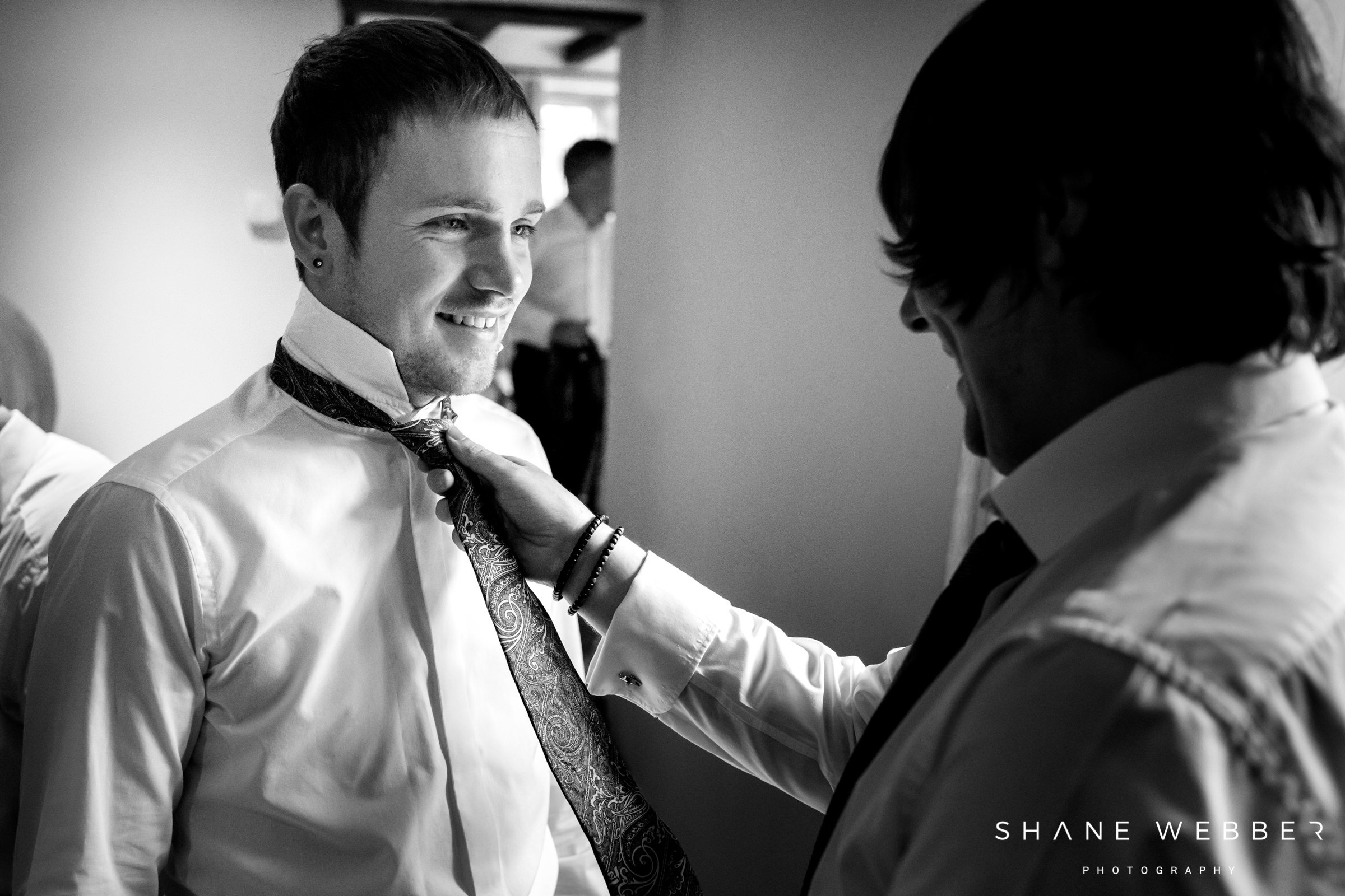 groom preparation dorfold hall