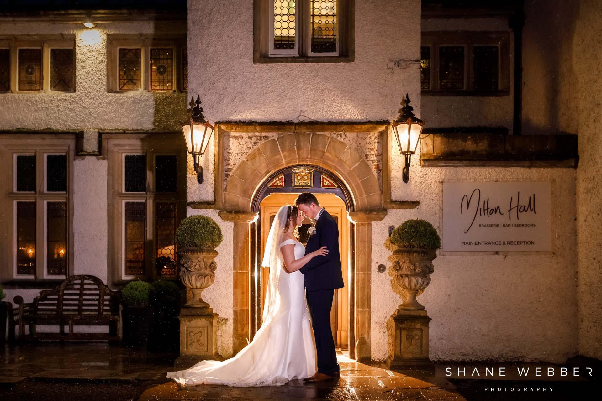 Mitton Hall wedding venue