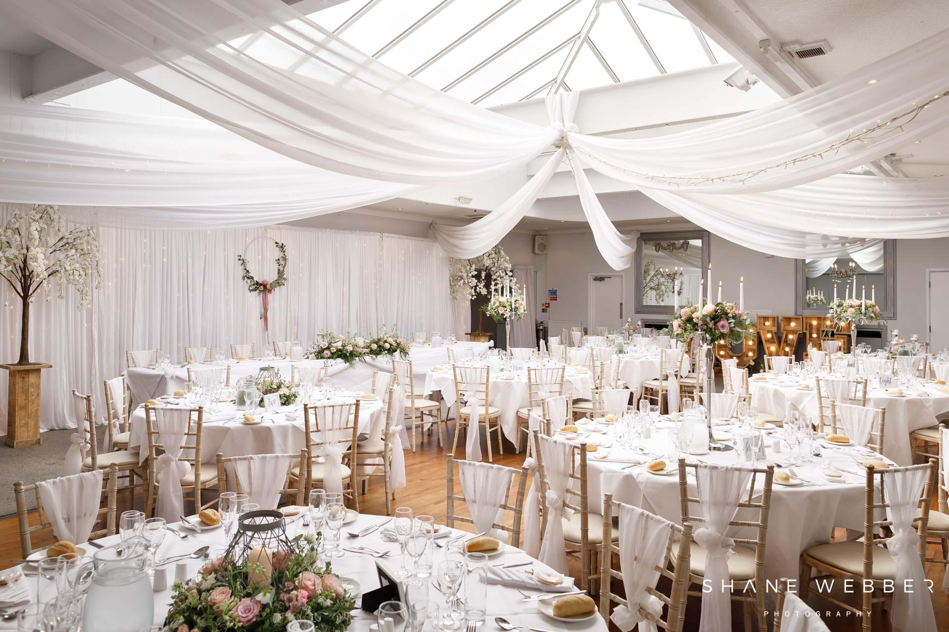 Stirk House wedding reception