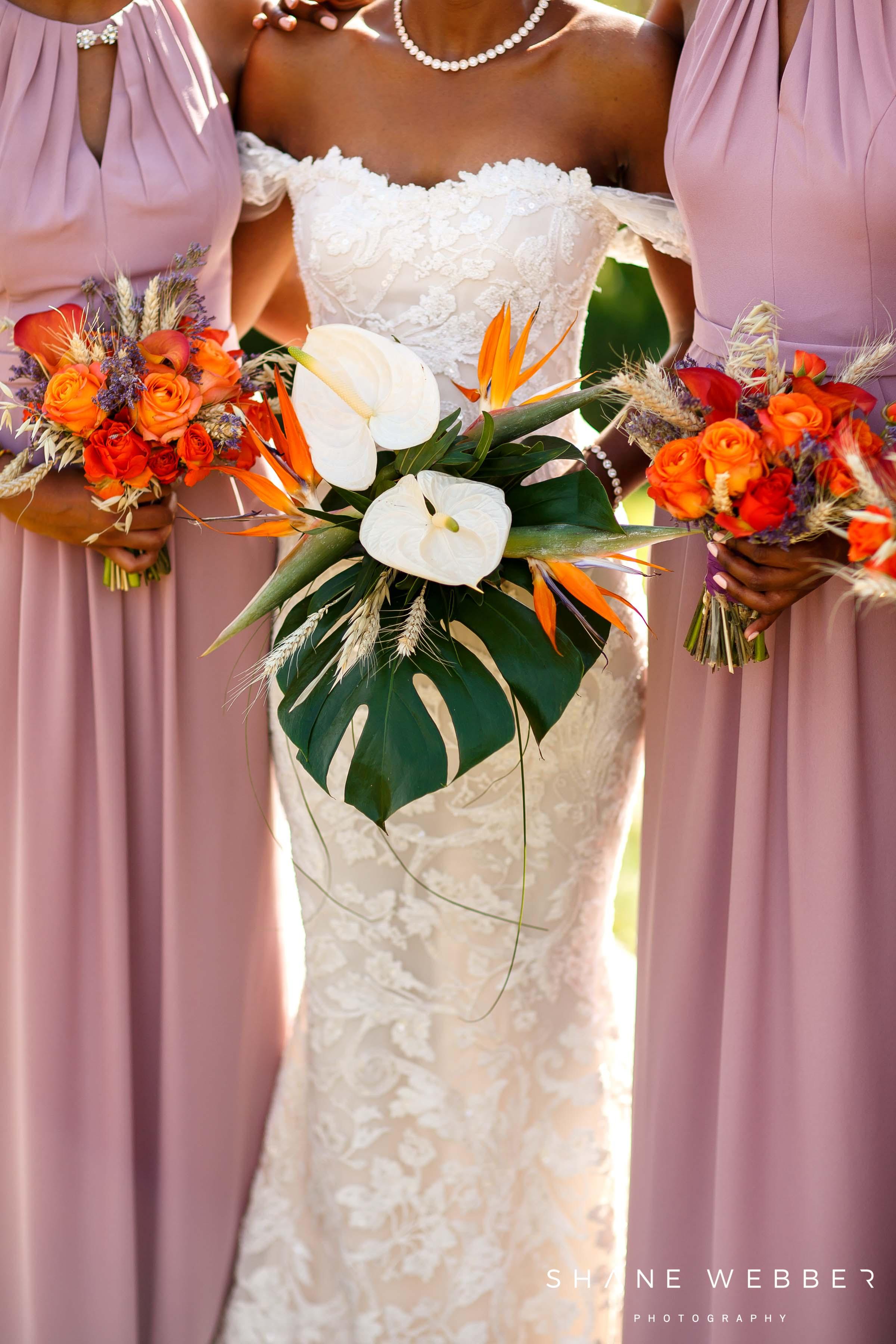 sass flower tropical wedding flowers