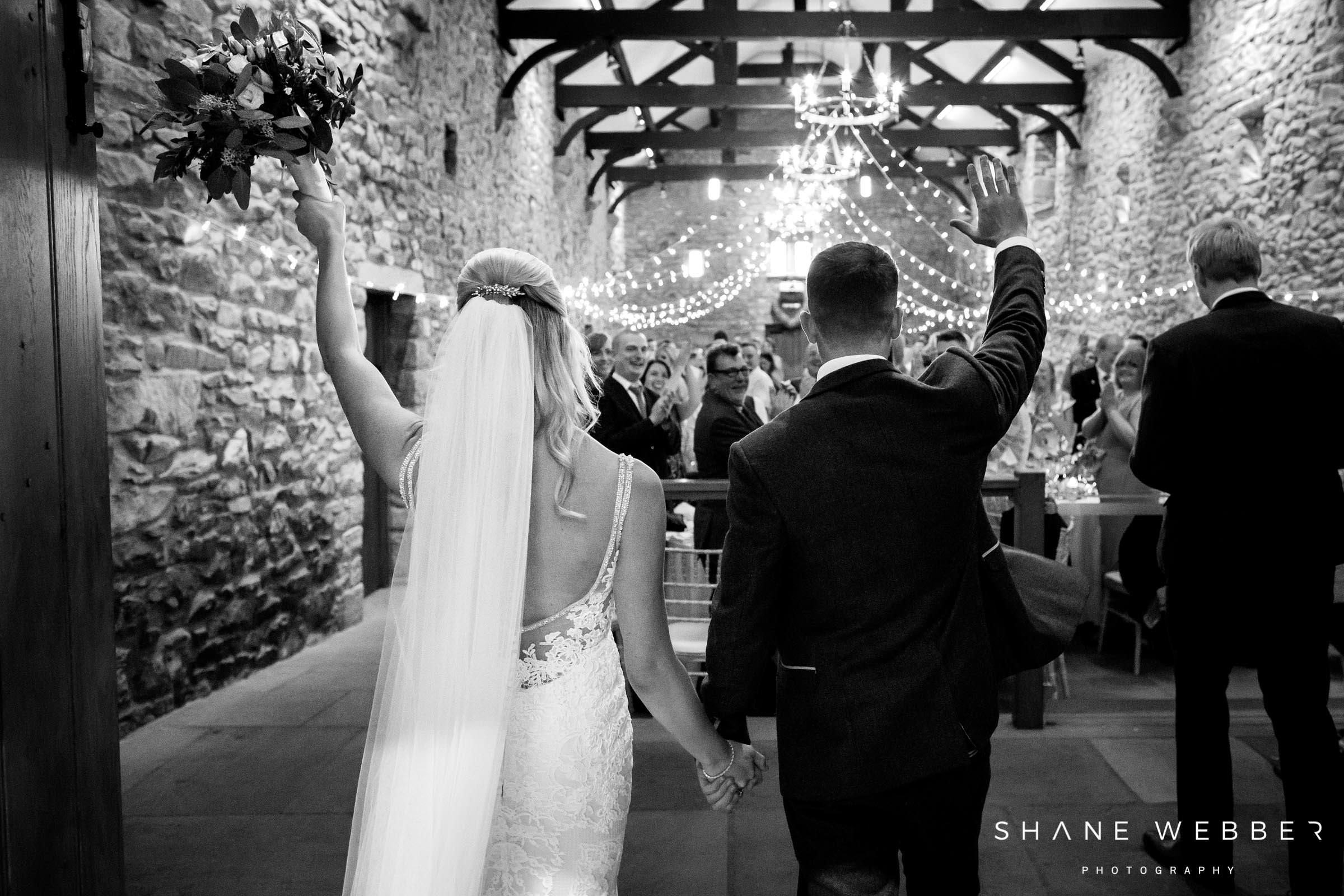 Tithe barn clitheroe wedding photography