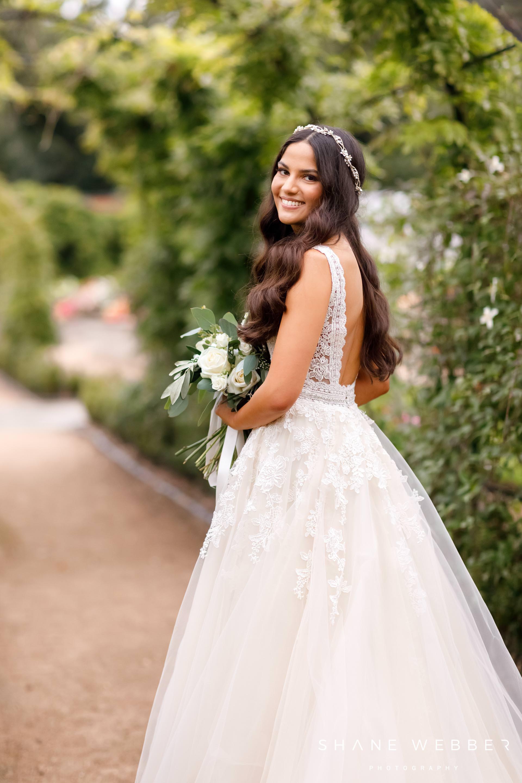Staffordshire wedding photography at Thorpe Gardens