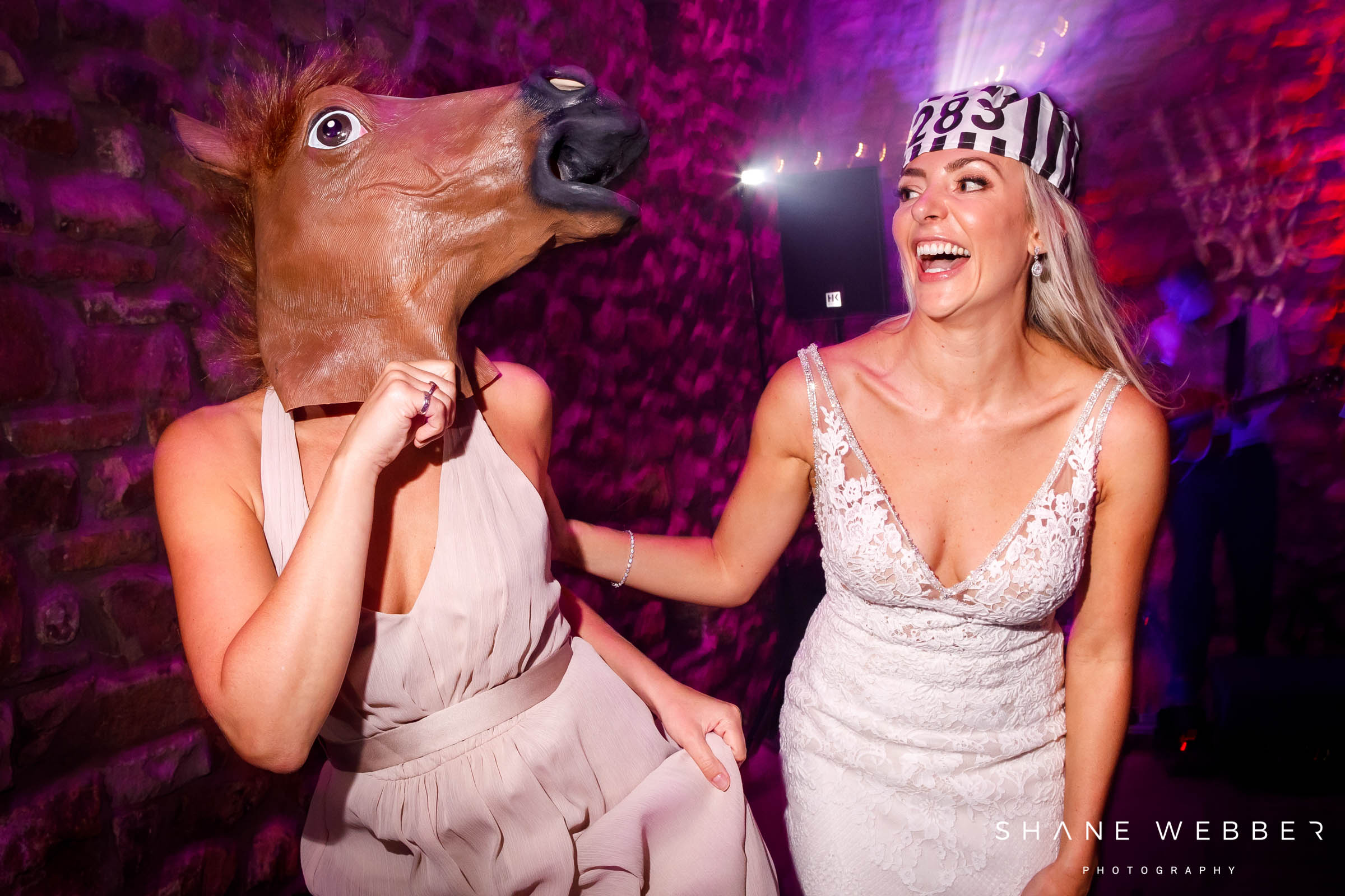 horses head photo booth prop