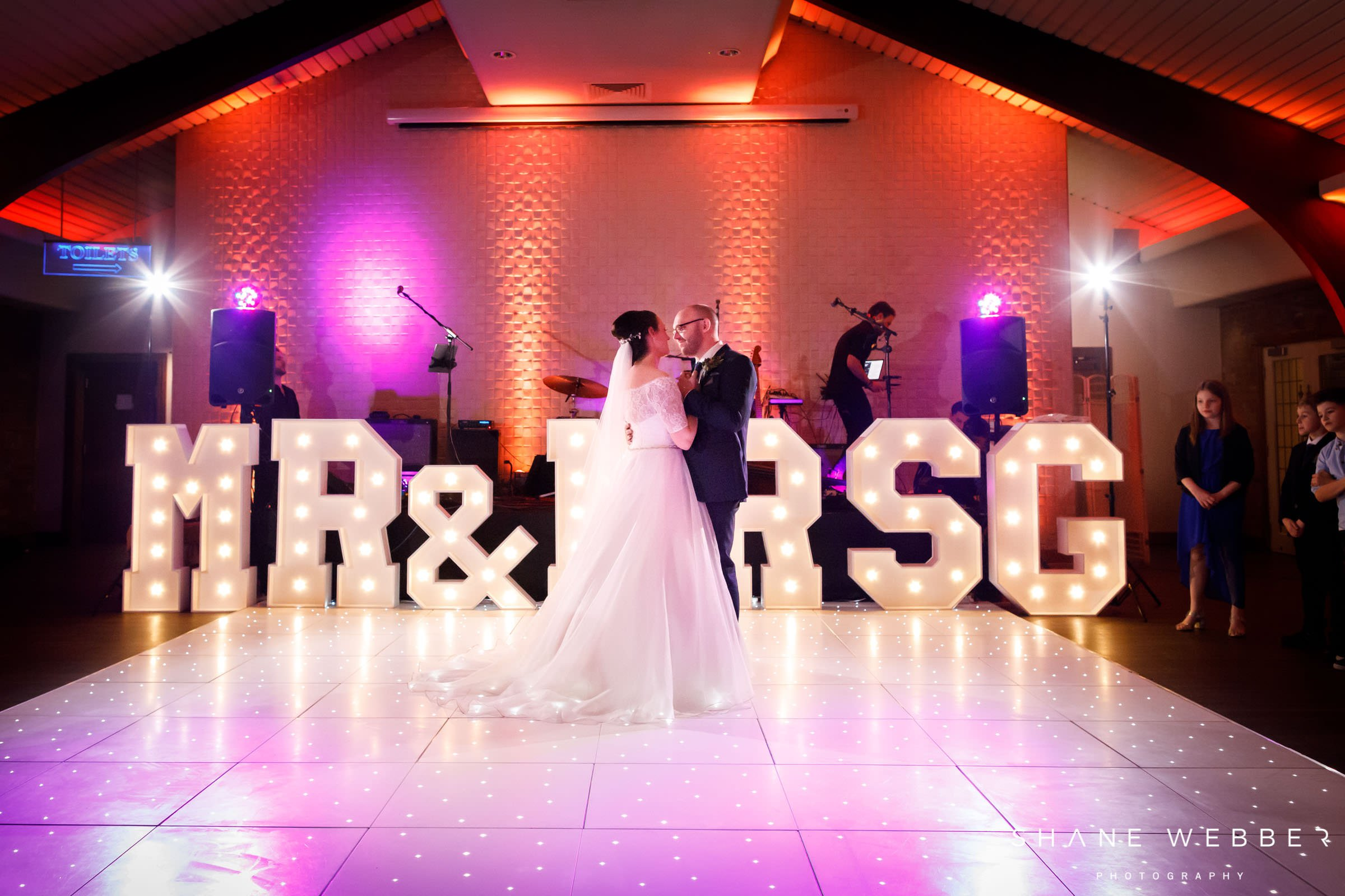 Colshaw Hall first dance photography