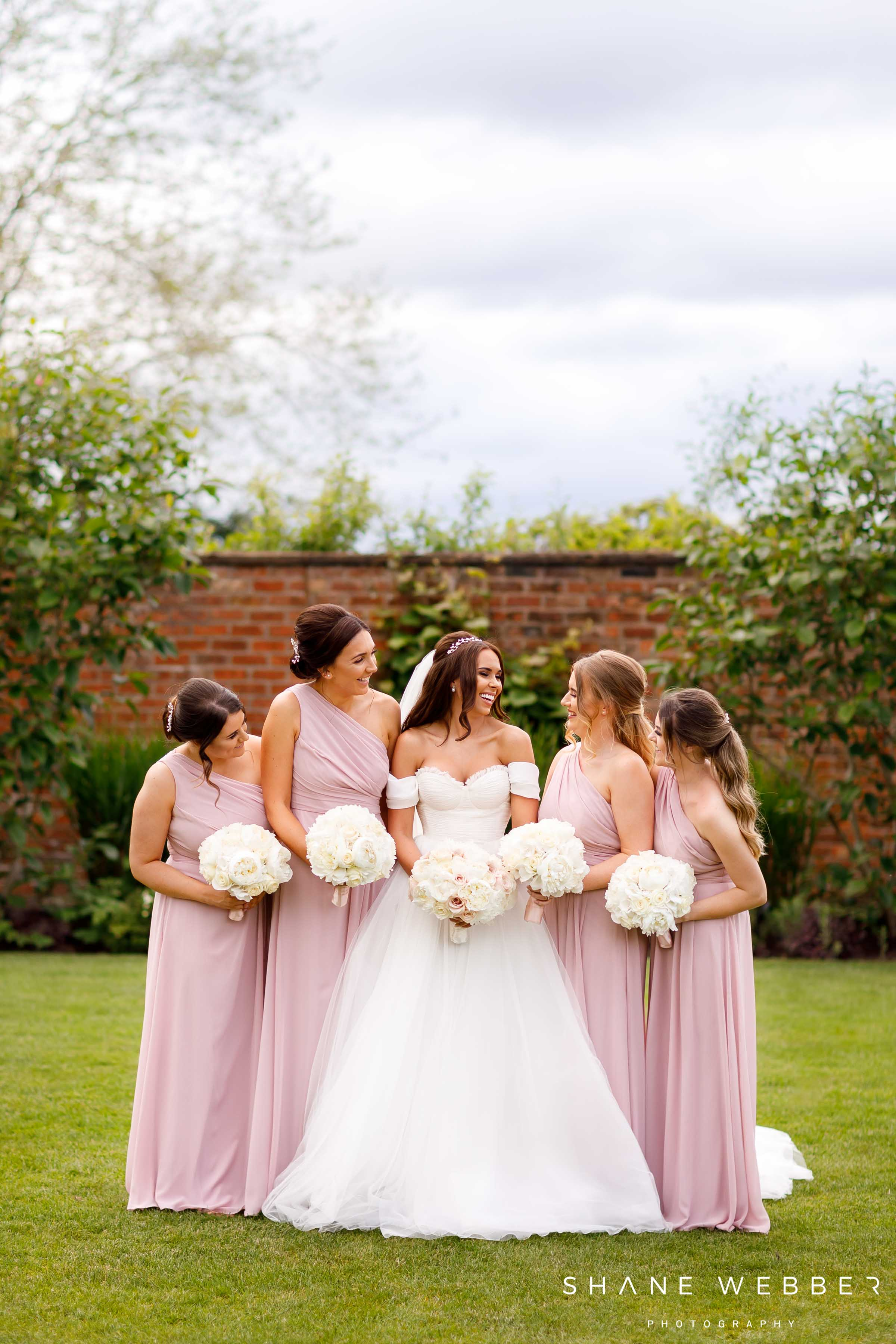 Colshaw Hall spring wedding photography