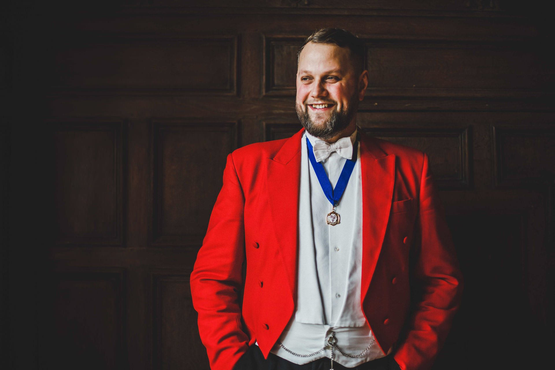 Wedding toastmaster