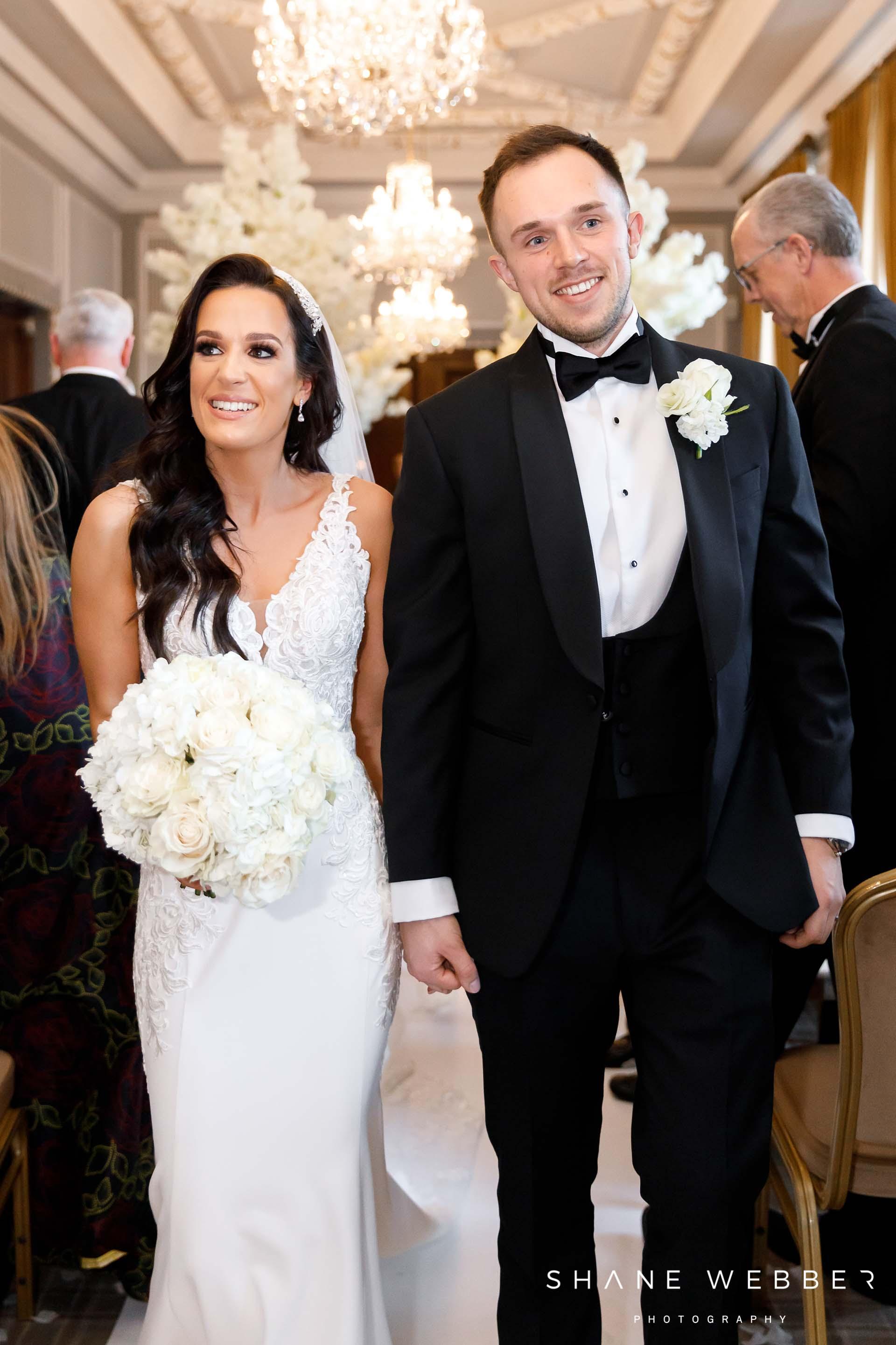 Manchester Hall wedding ceremony