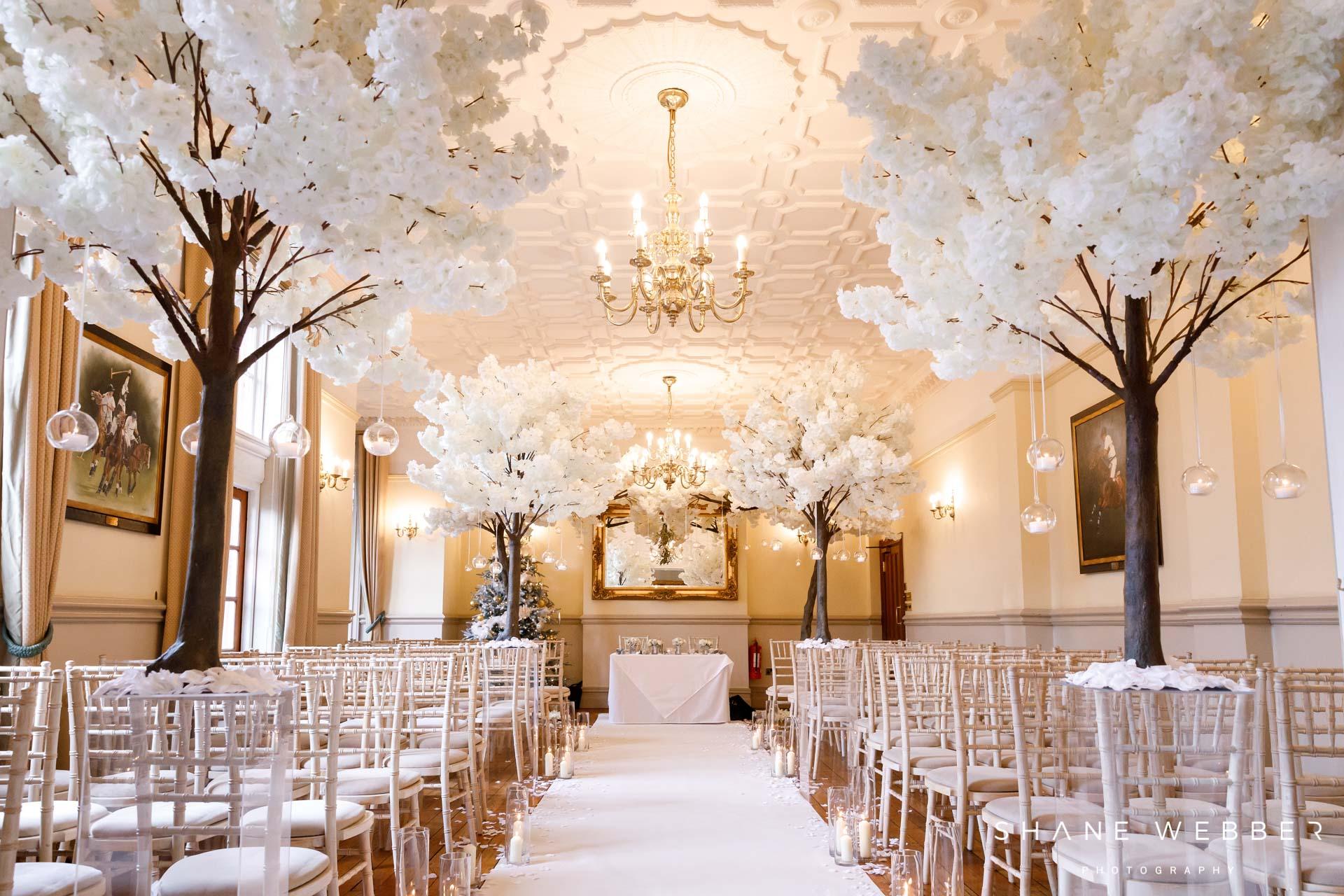nunsmere hall wedding ceremony
