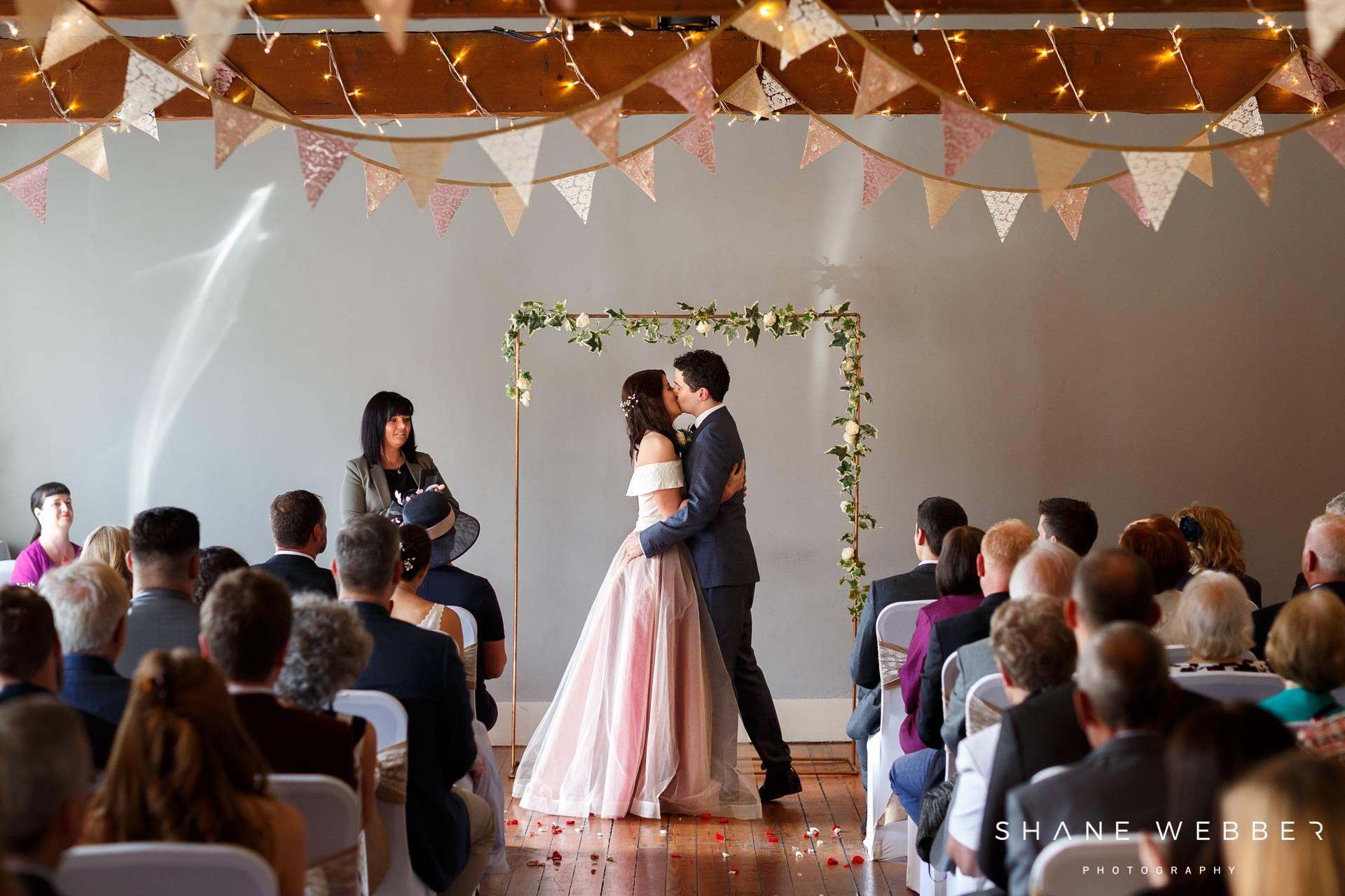 Castlefield rooms wedding ceremony