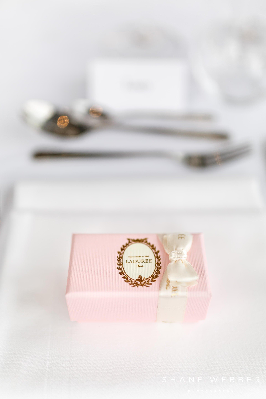 luxury wedding favour