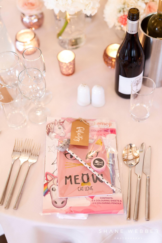colouring book wedding