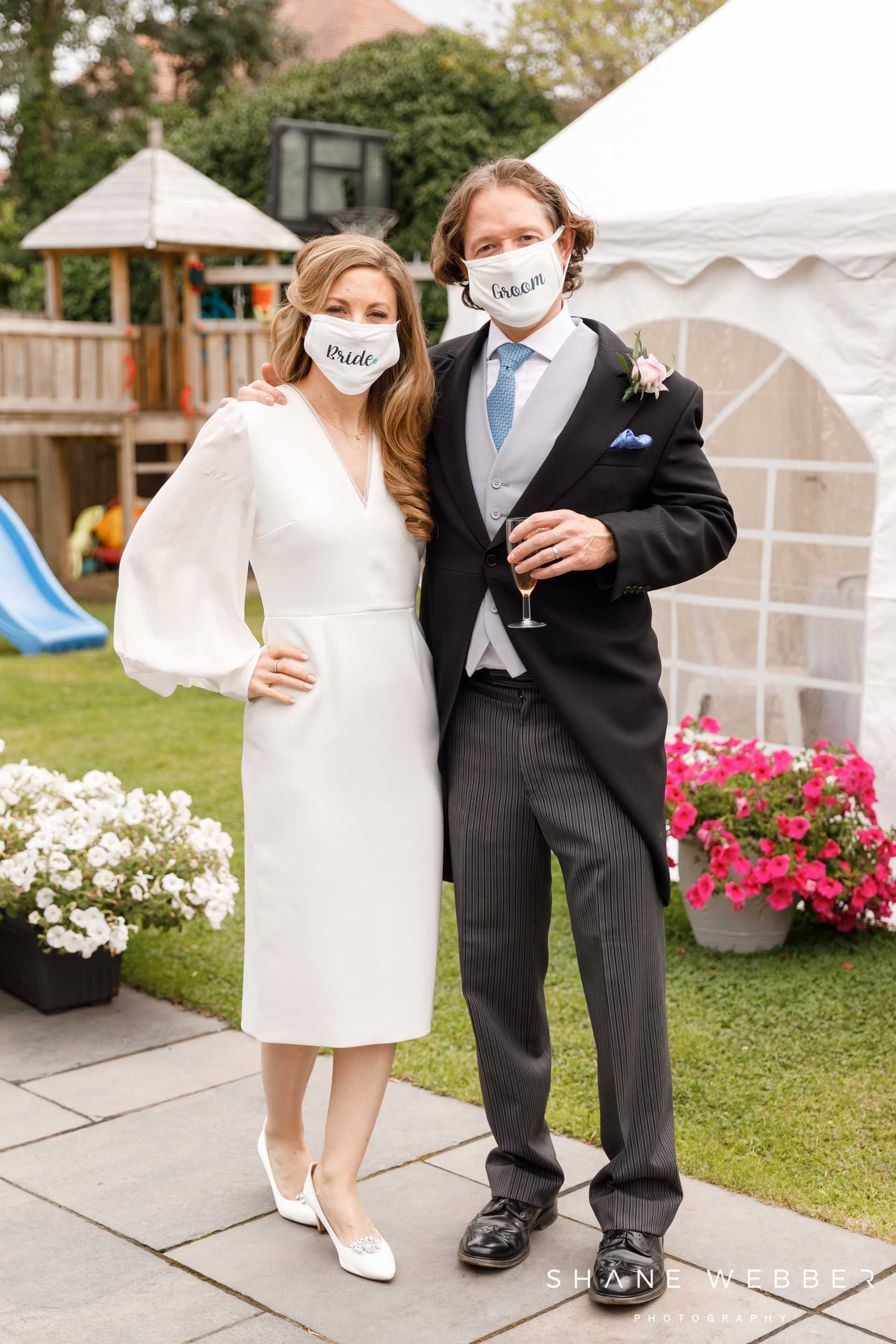 Coronavirus Wedding Photo