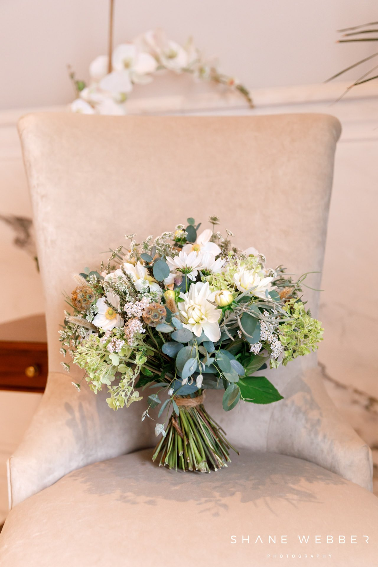 Victoria Ivy Yorkshire wedding bouquet