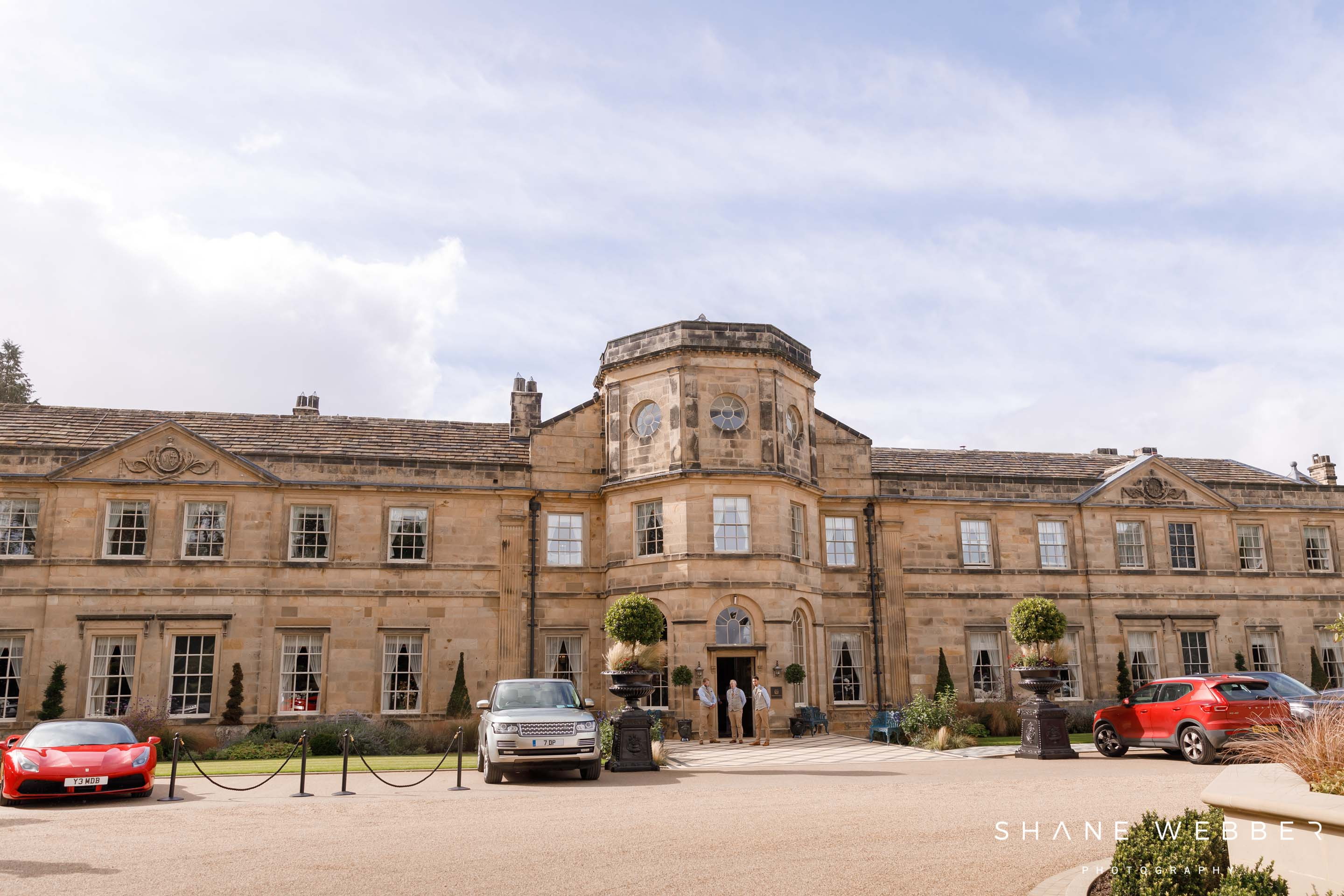 Luxury Hotel wedding venue Grantley Hall