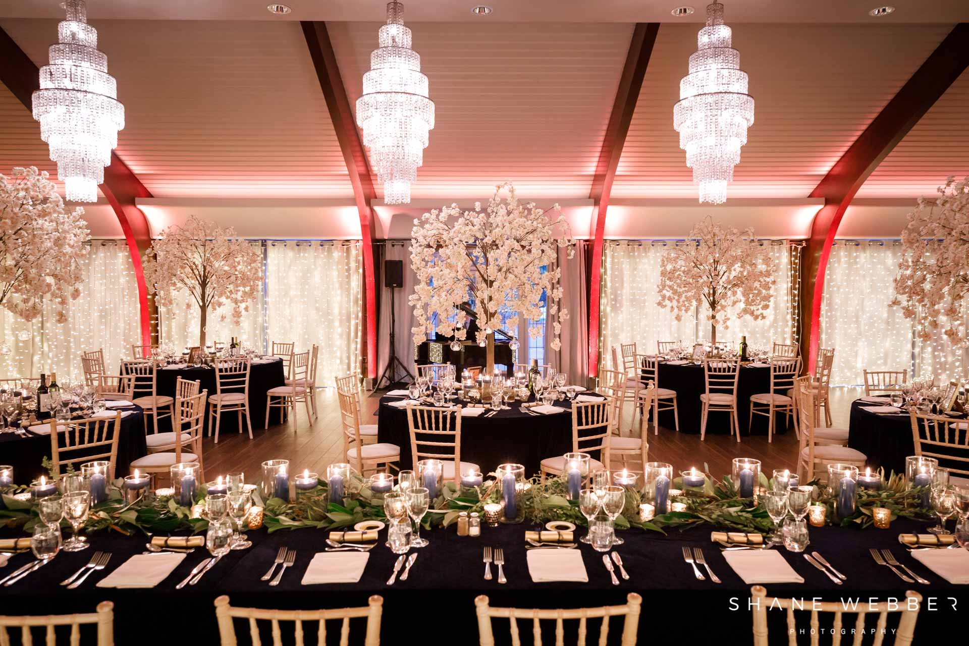 Colshaw Hall Christmas winter wedding in the Peel Suite